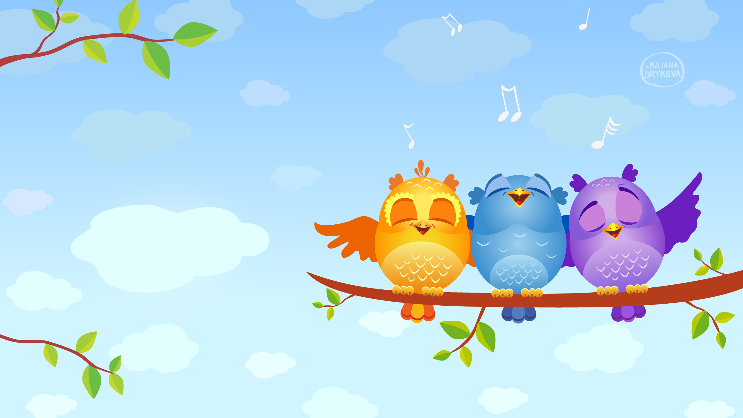 Singing Birds 127.04 Kb