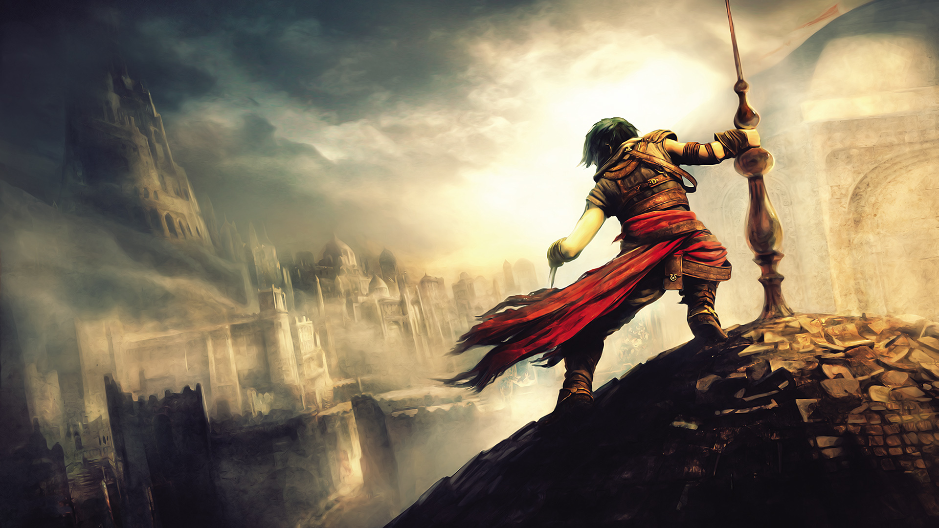 Prince Of Persia Artwork 609.12 Kb
