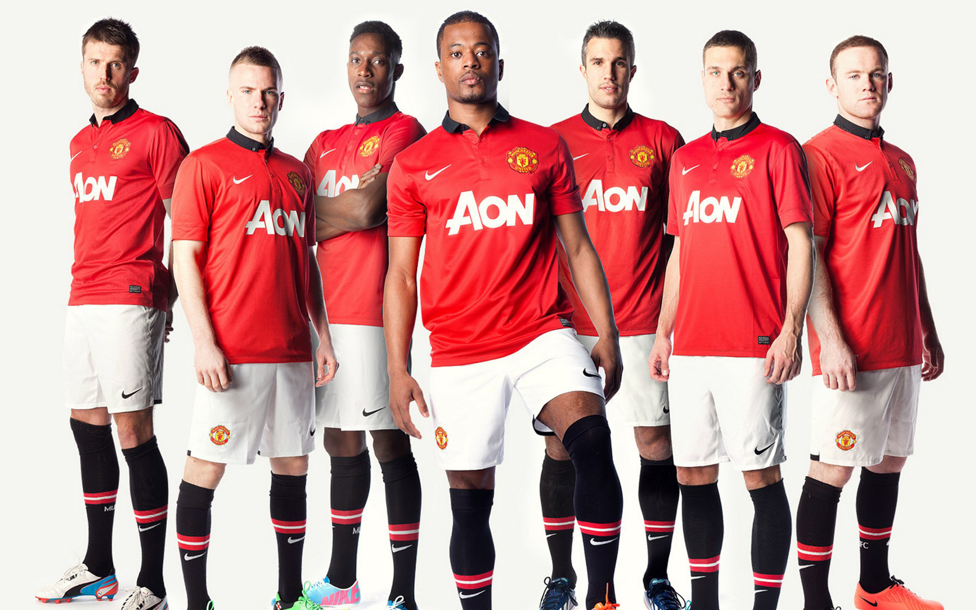 Manchester United Team 2013