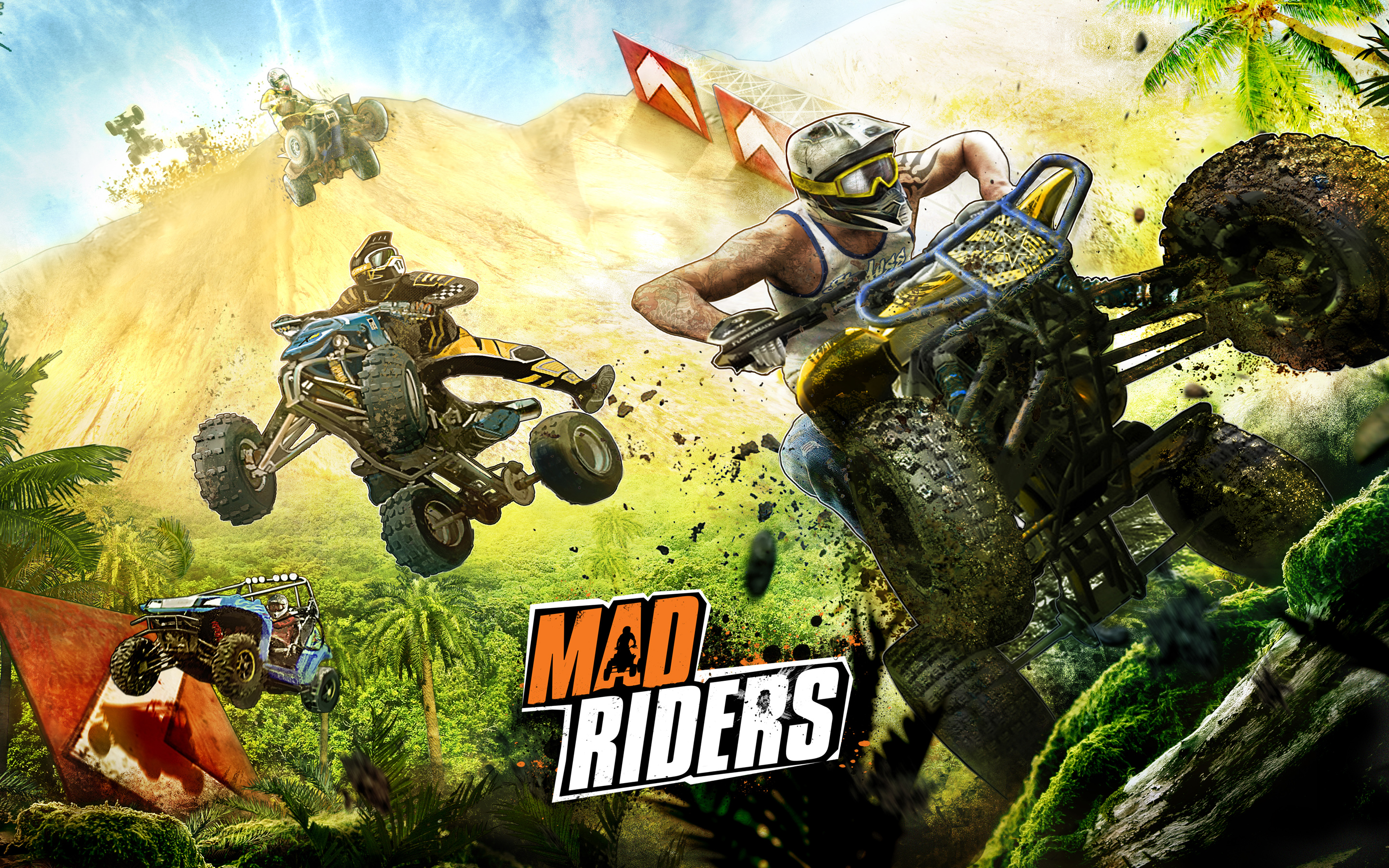 Mad Riders Game