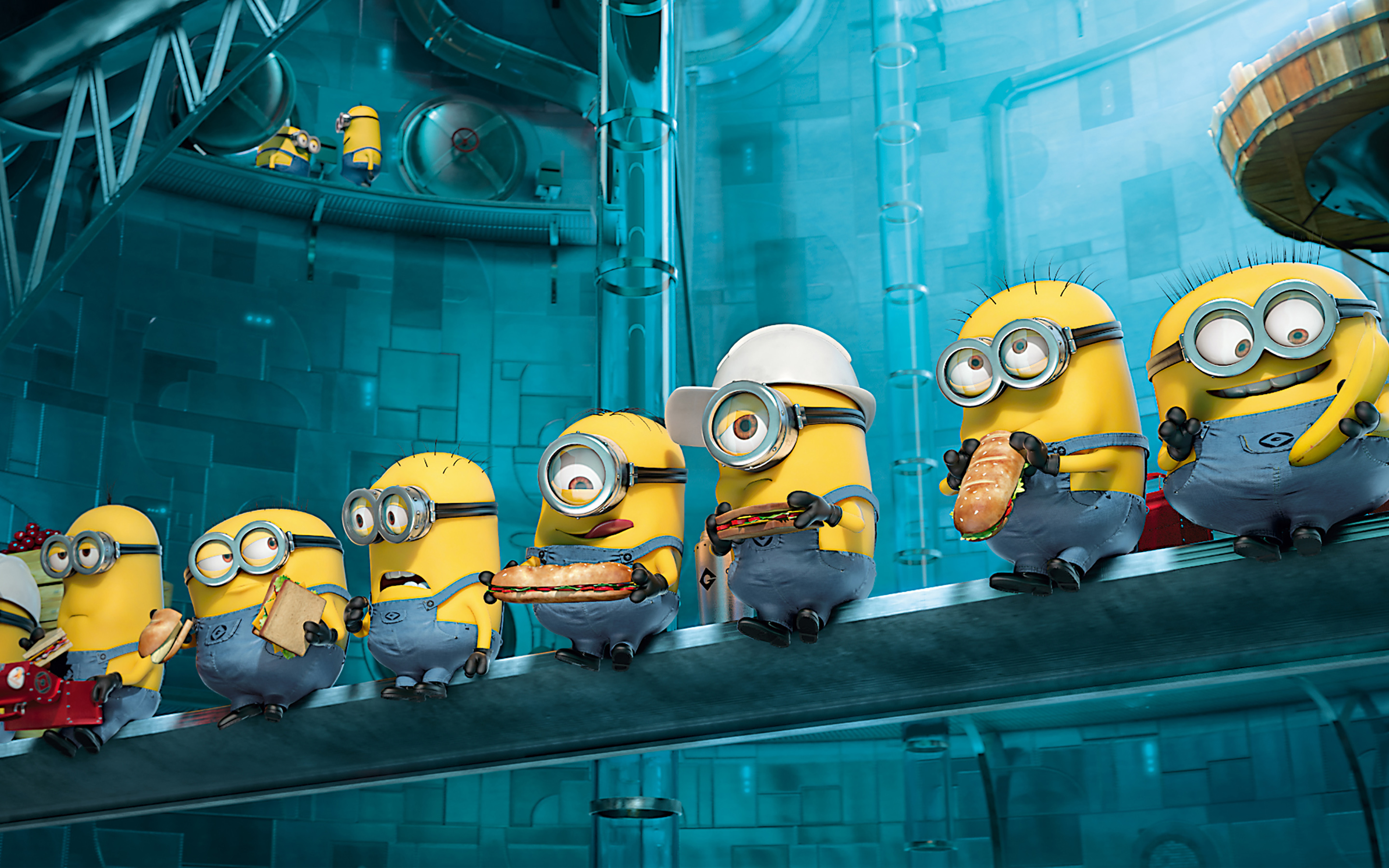 Paradise Minions Despicable Me 2 2492.13 Kb