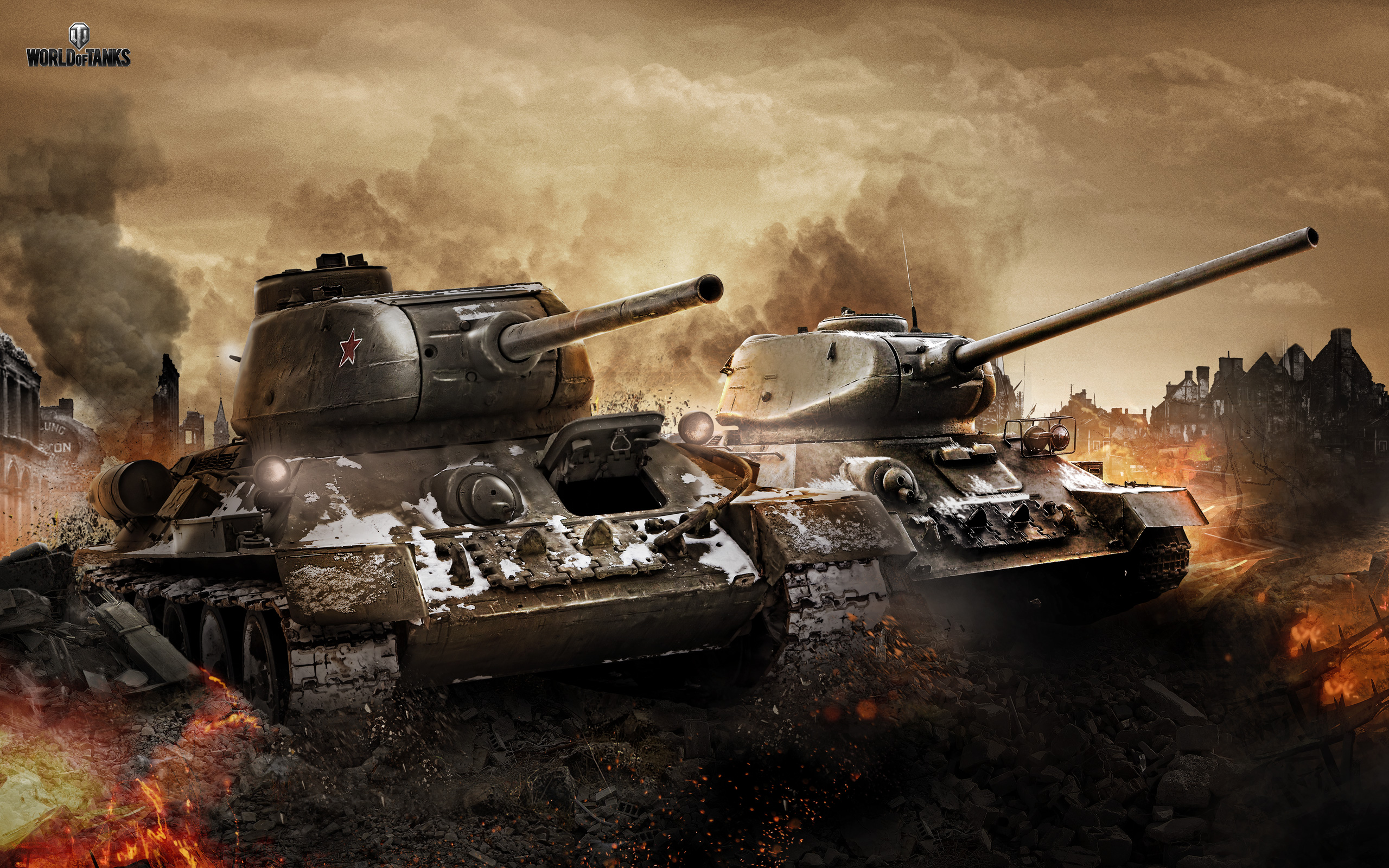 T 34 & T 34 85 in World of Tanks 2023.22 Kb