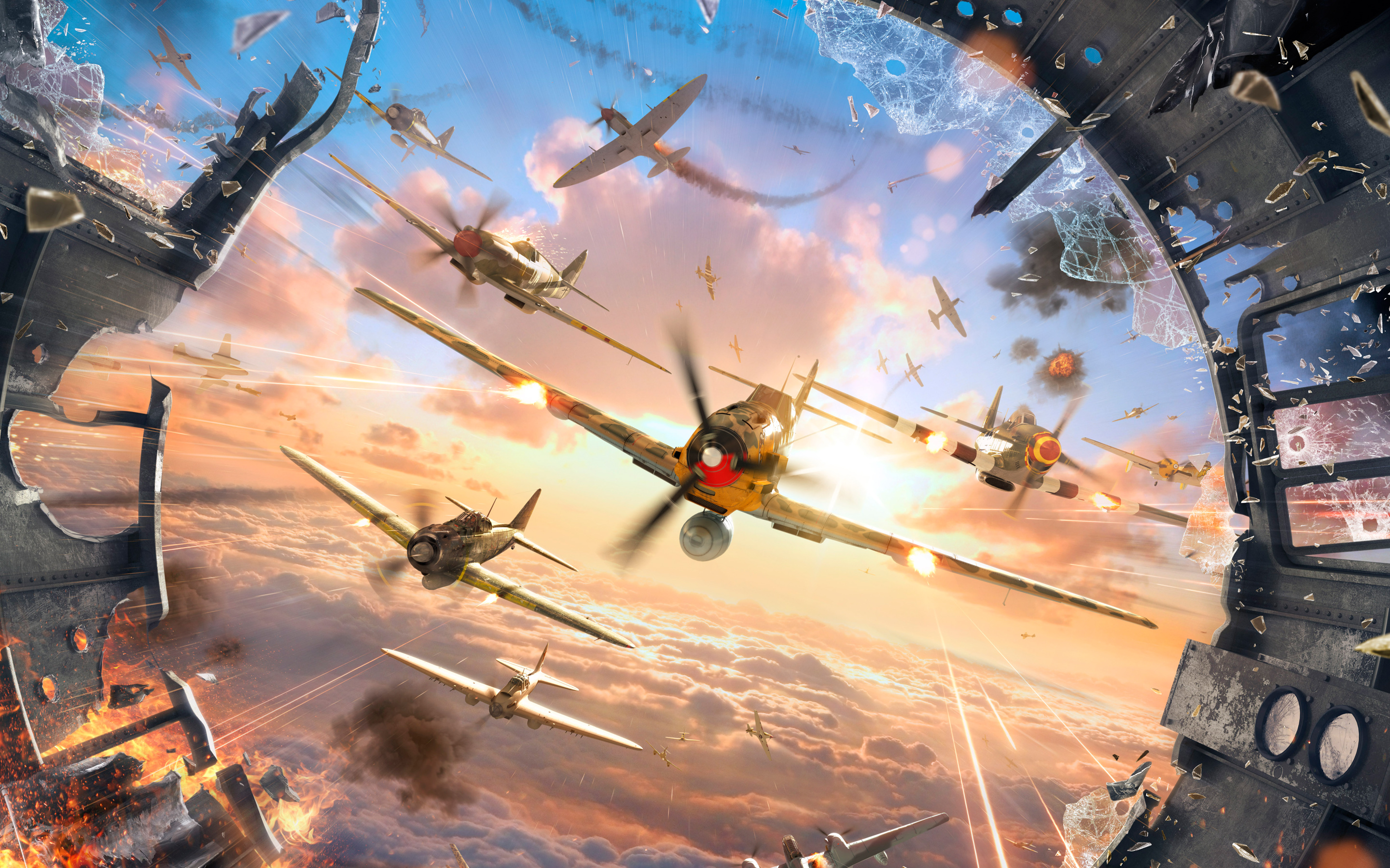 World of Warplanes Game