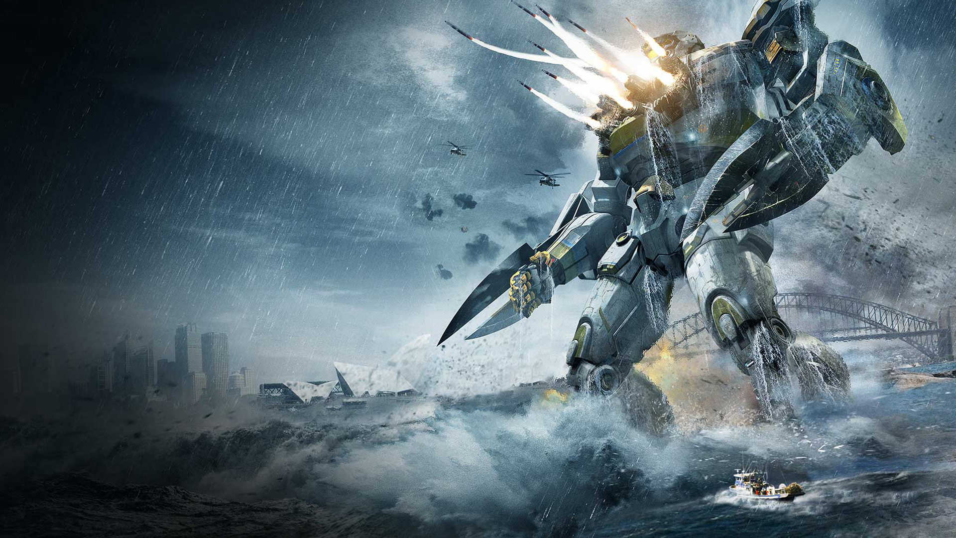 Striker Eureka in Pacific Rim