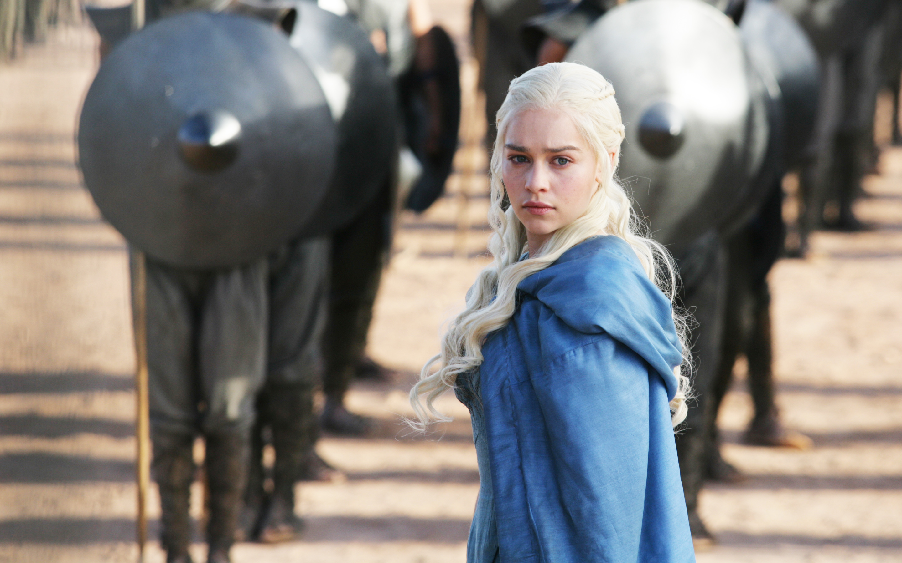 Emilia Clarke in  Game of Thrones 3