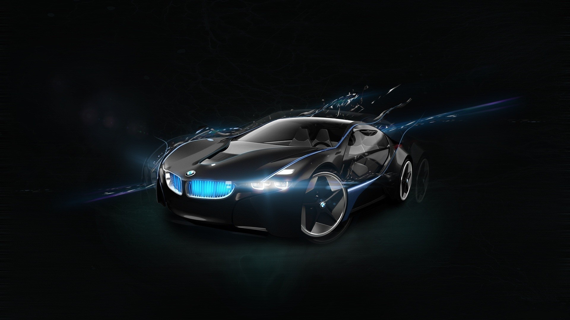 BMW Vision Super Car 674.93 Kb
