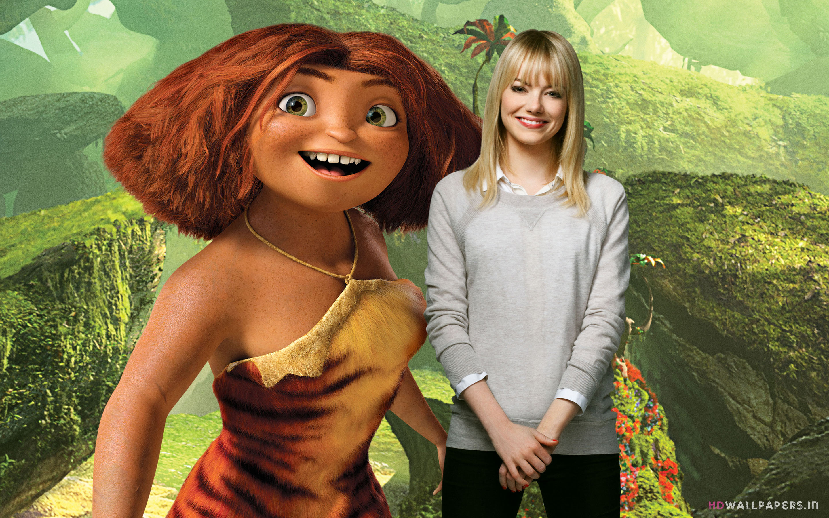 Emma Stone as Eep