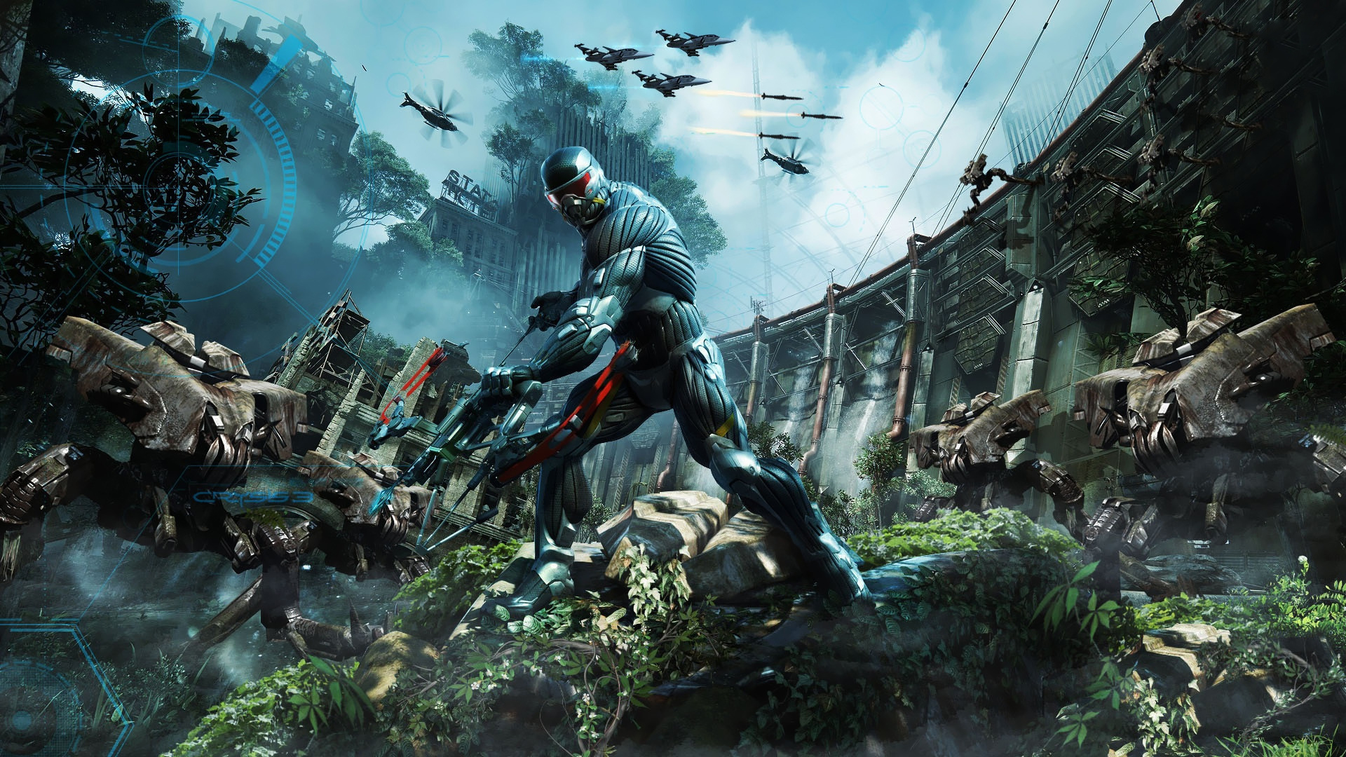 Crysis 3 Game 588.9 Kb