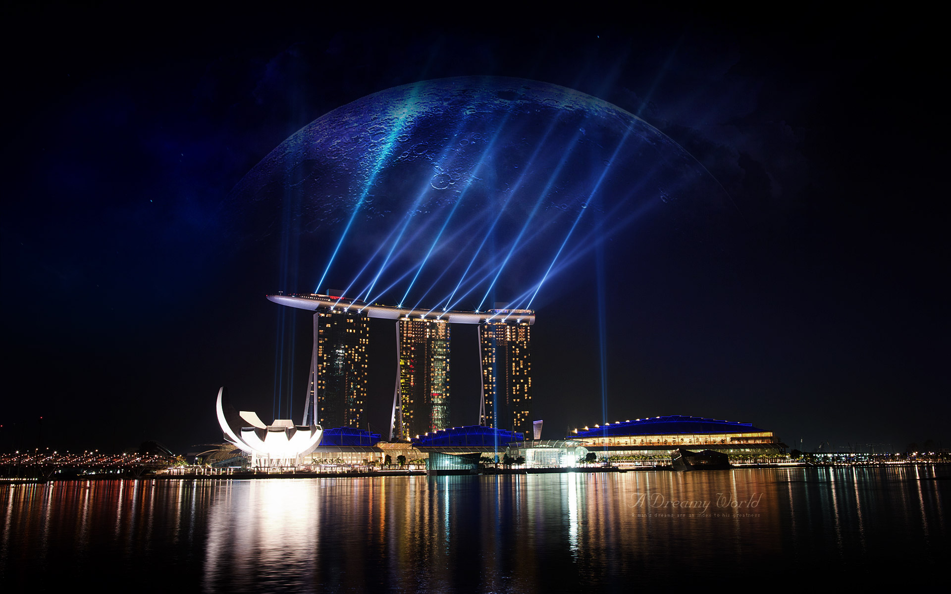 Marina Bay Sands Singapore 1406.7 Kb