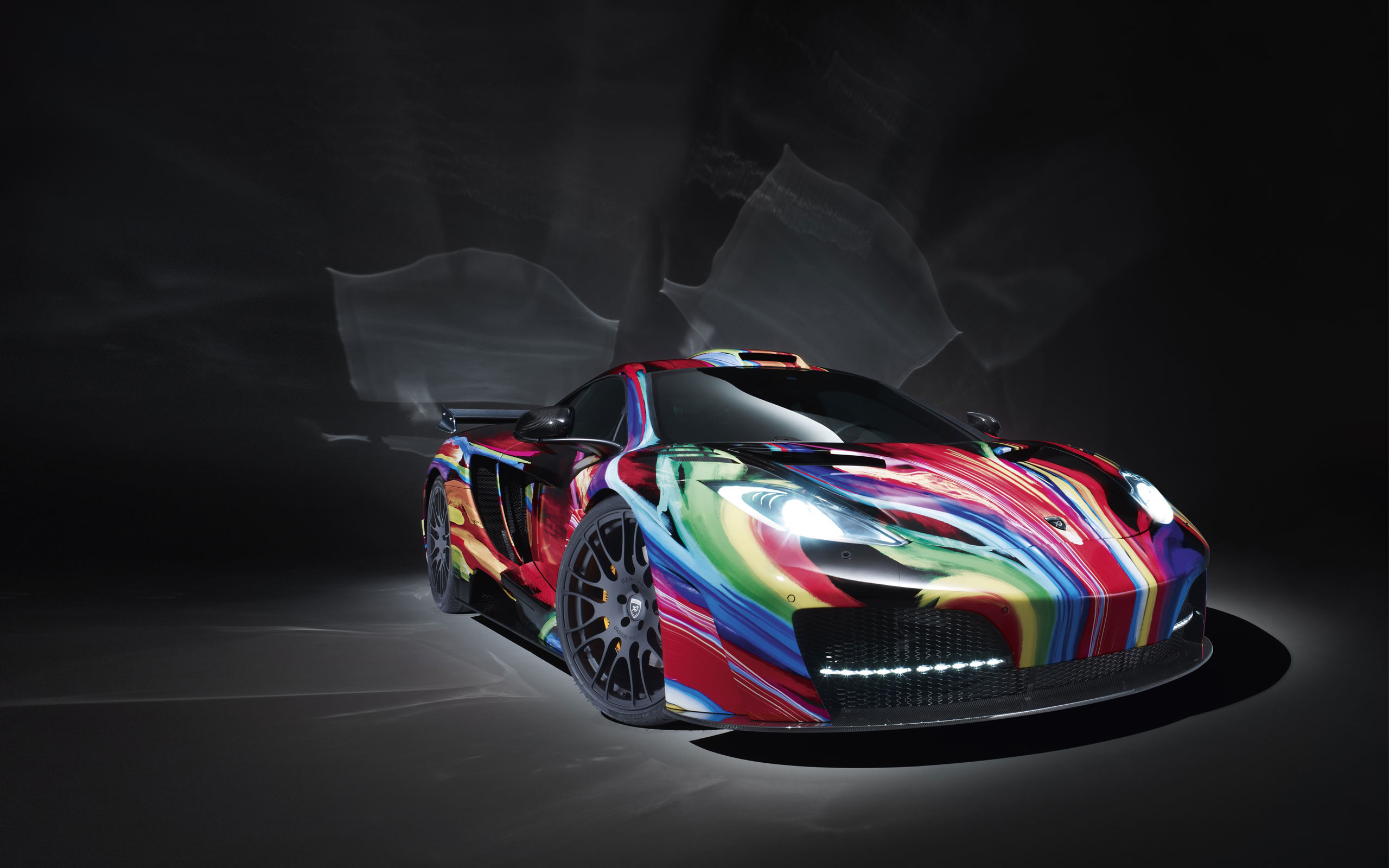 McLaren MP4 12C Art Car Hamann 770.46 Kb
