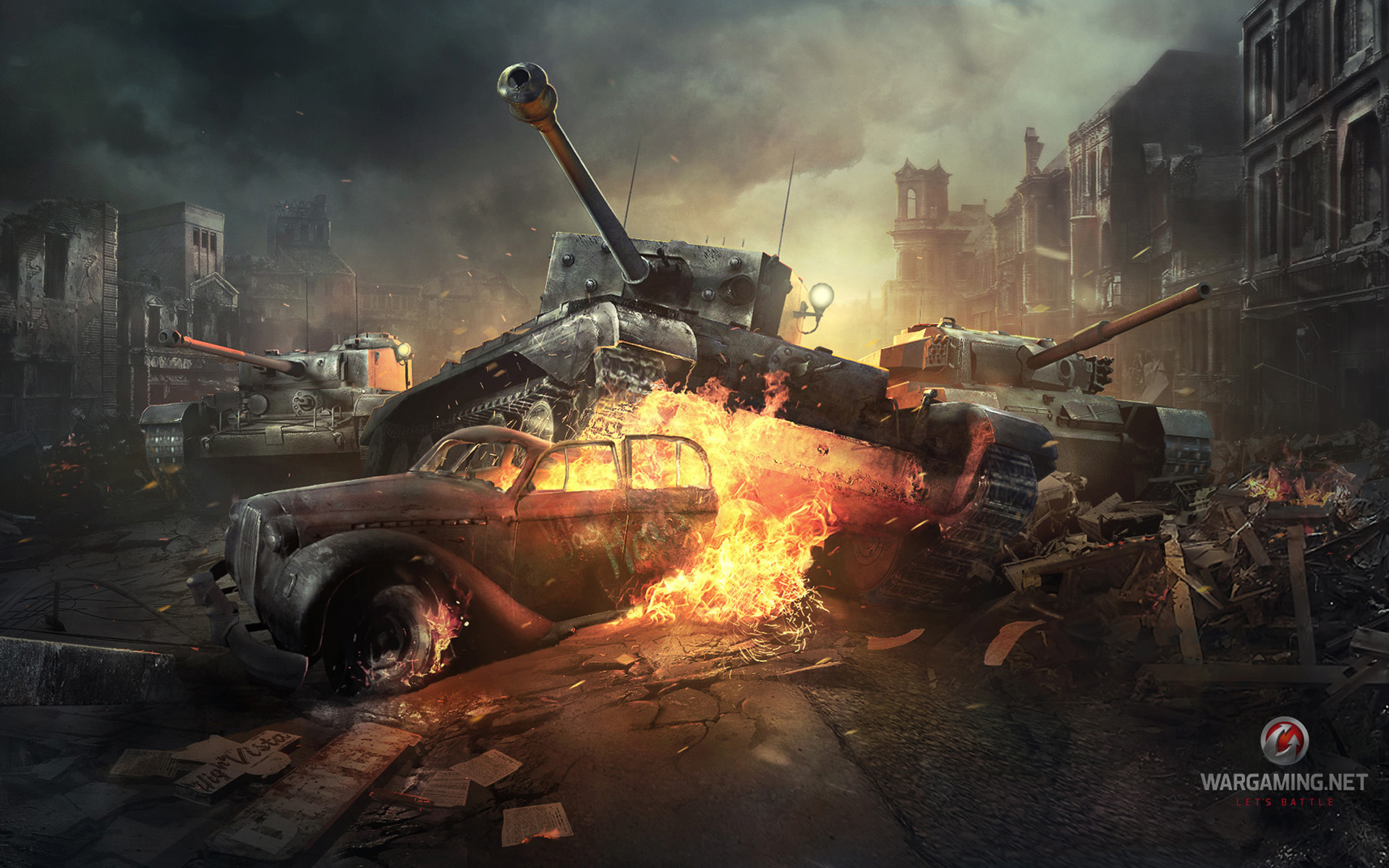 World of Tanks Online Game 1548.8 Kb