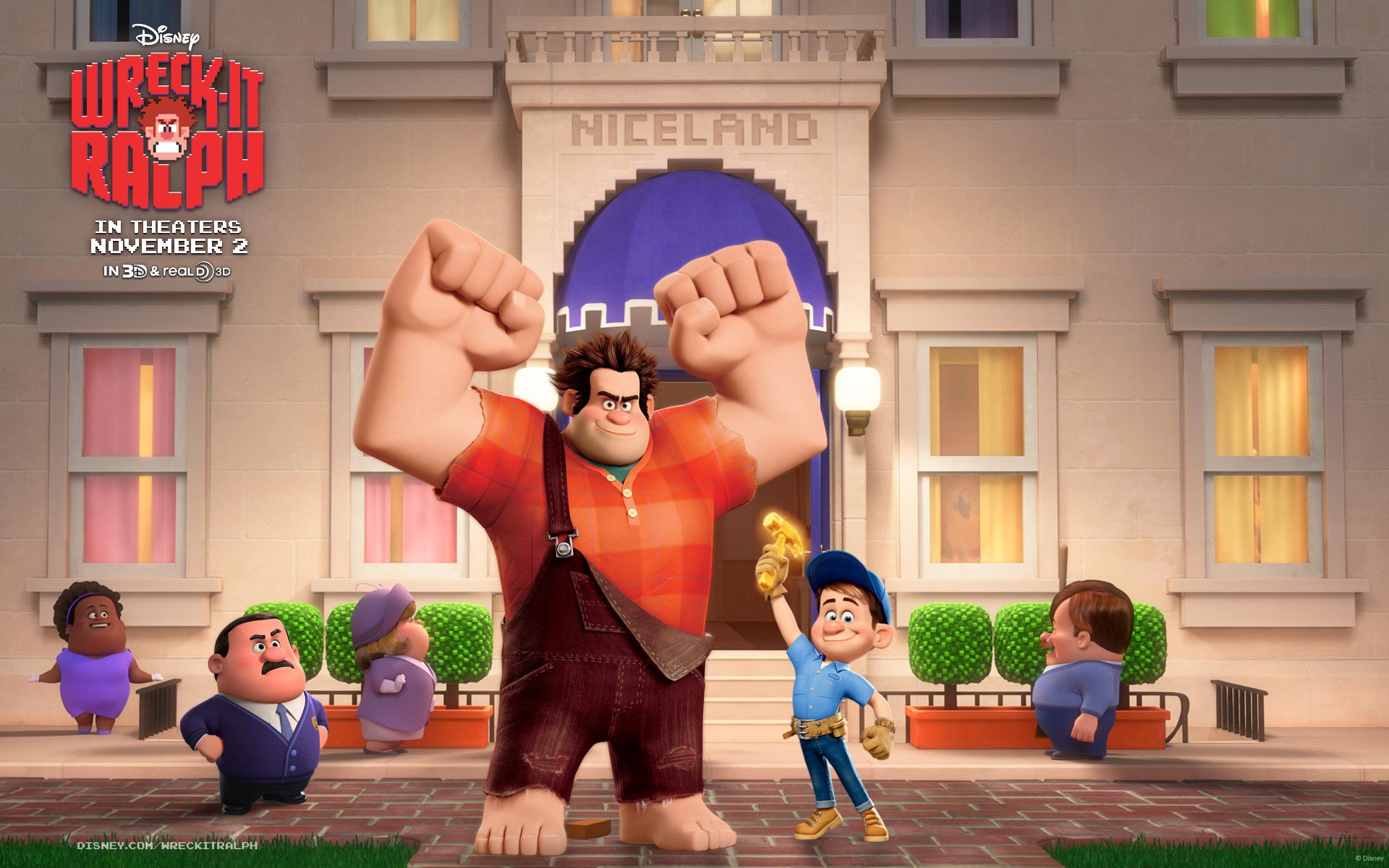Wreck It Ralph 2158.65 Kb