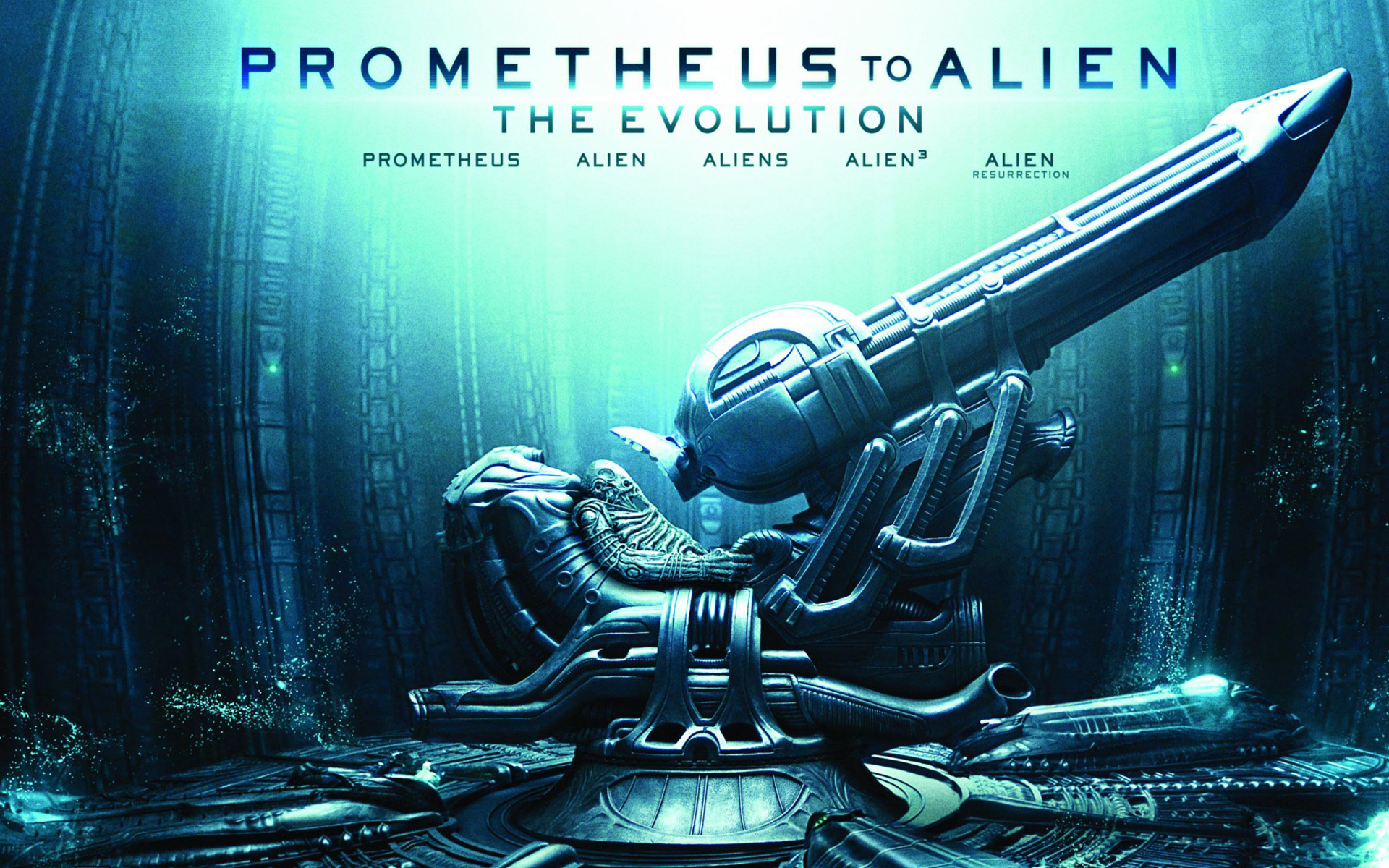 Prometheus to Alien The Evolution