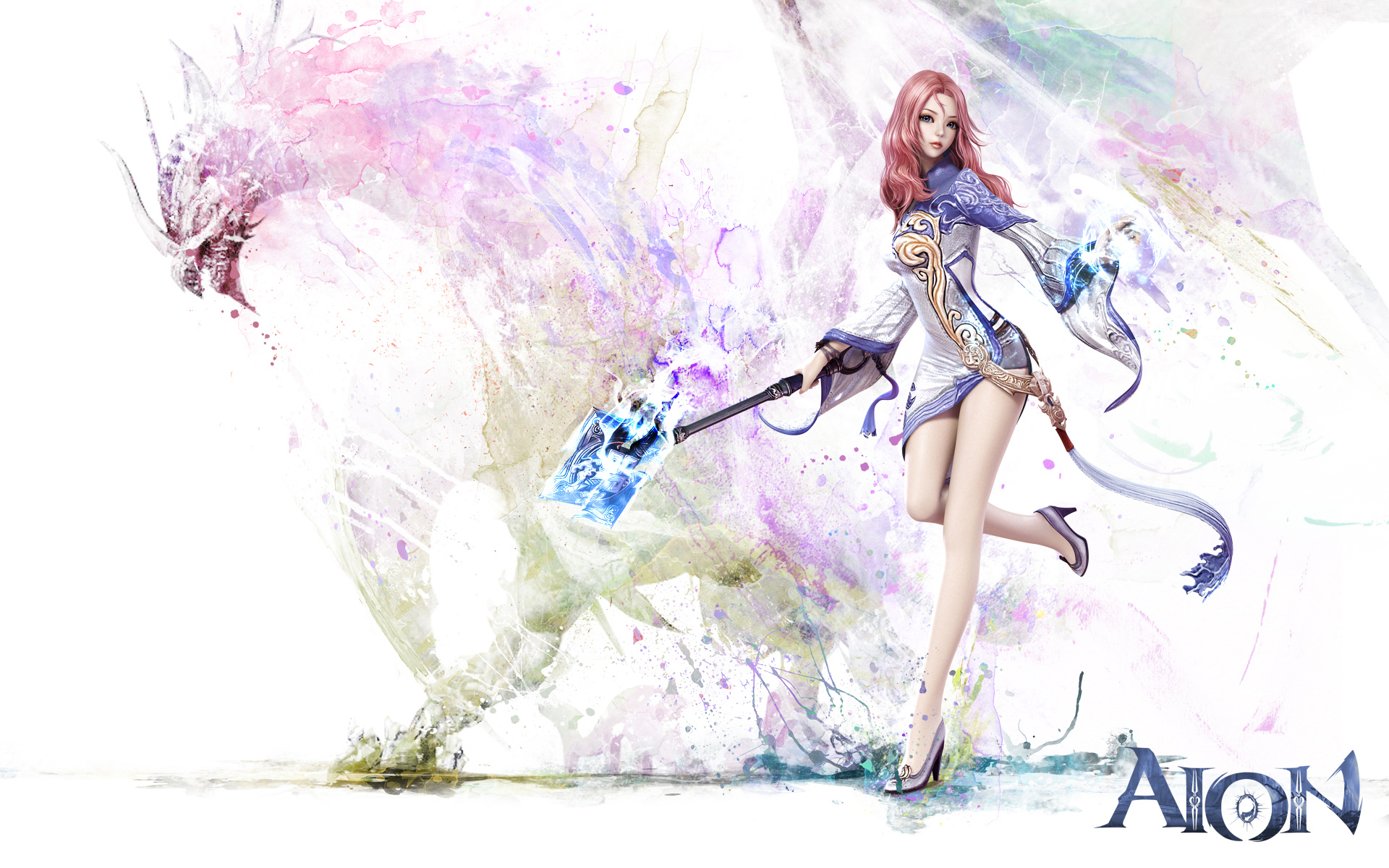 Aion Game Girl 752.3 Kb
