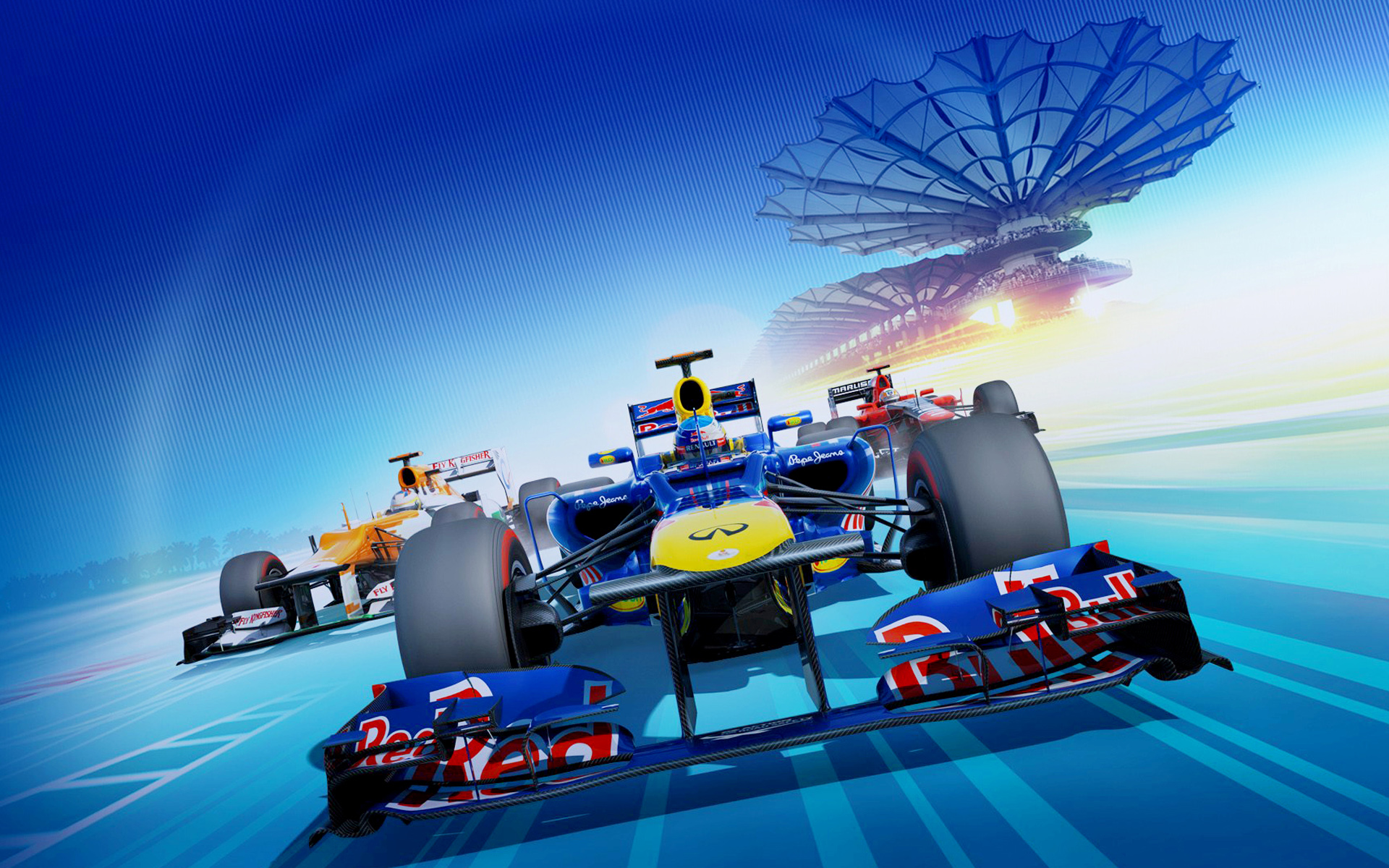 F1 2012 Video Game 1262.89 Kb