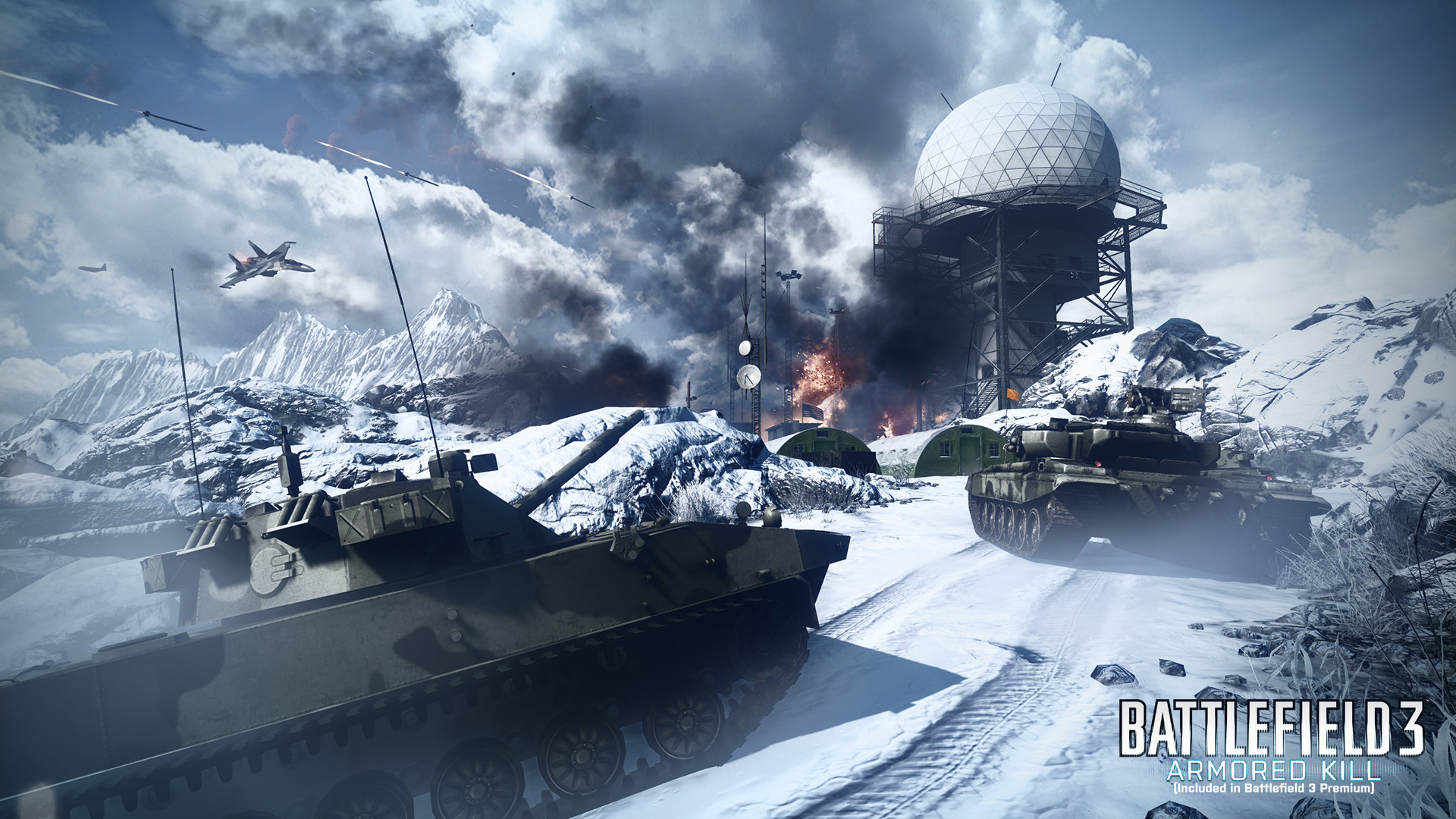 Battlefield 3 Armored Kill Alborz Mountain