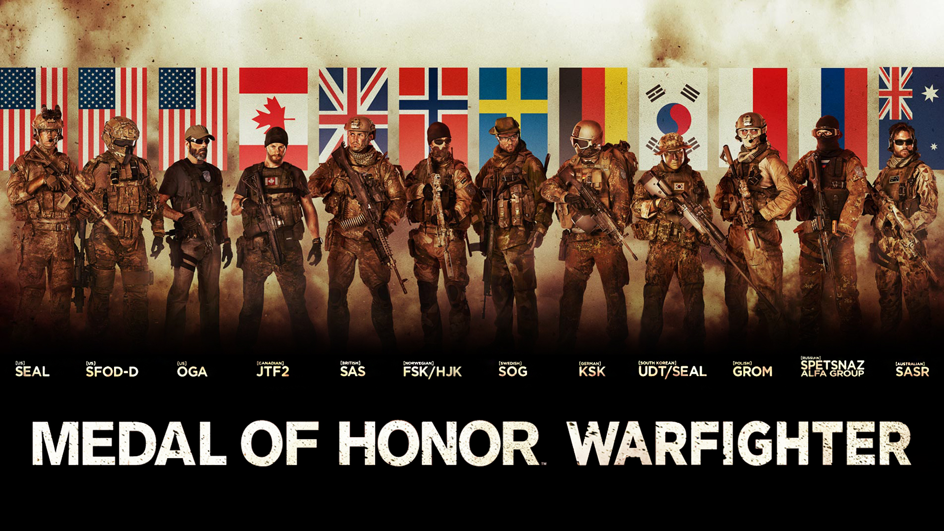 Medal of Honor Warfighter Tier 1 Special Forces