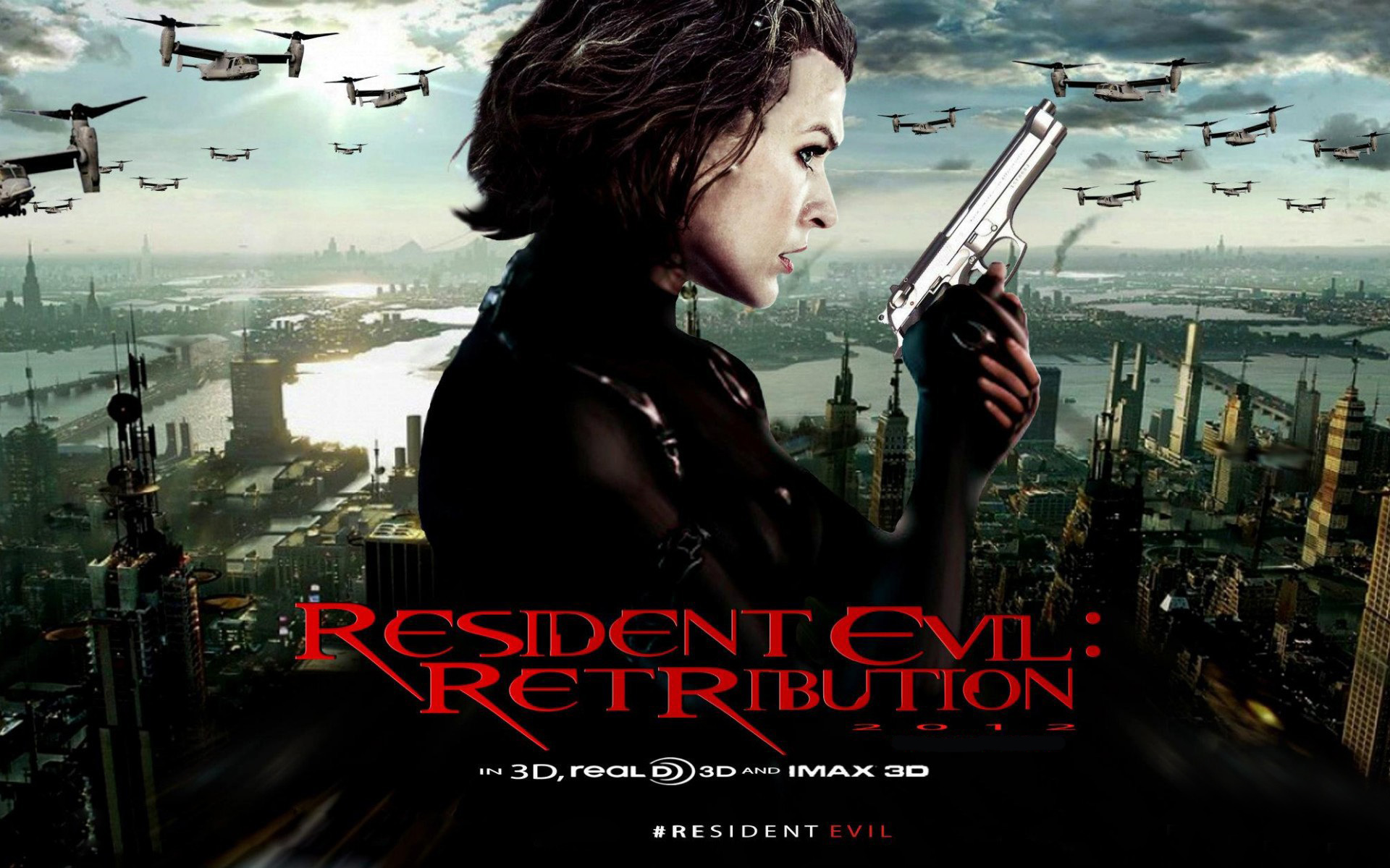 2012 Resident Evil 5 Retribution