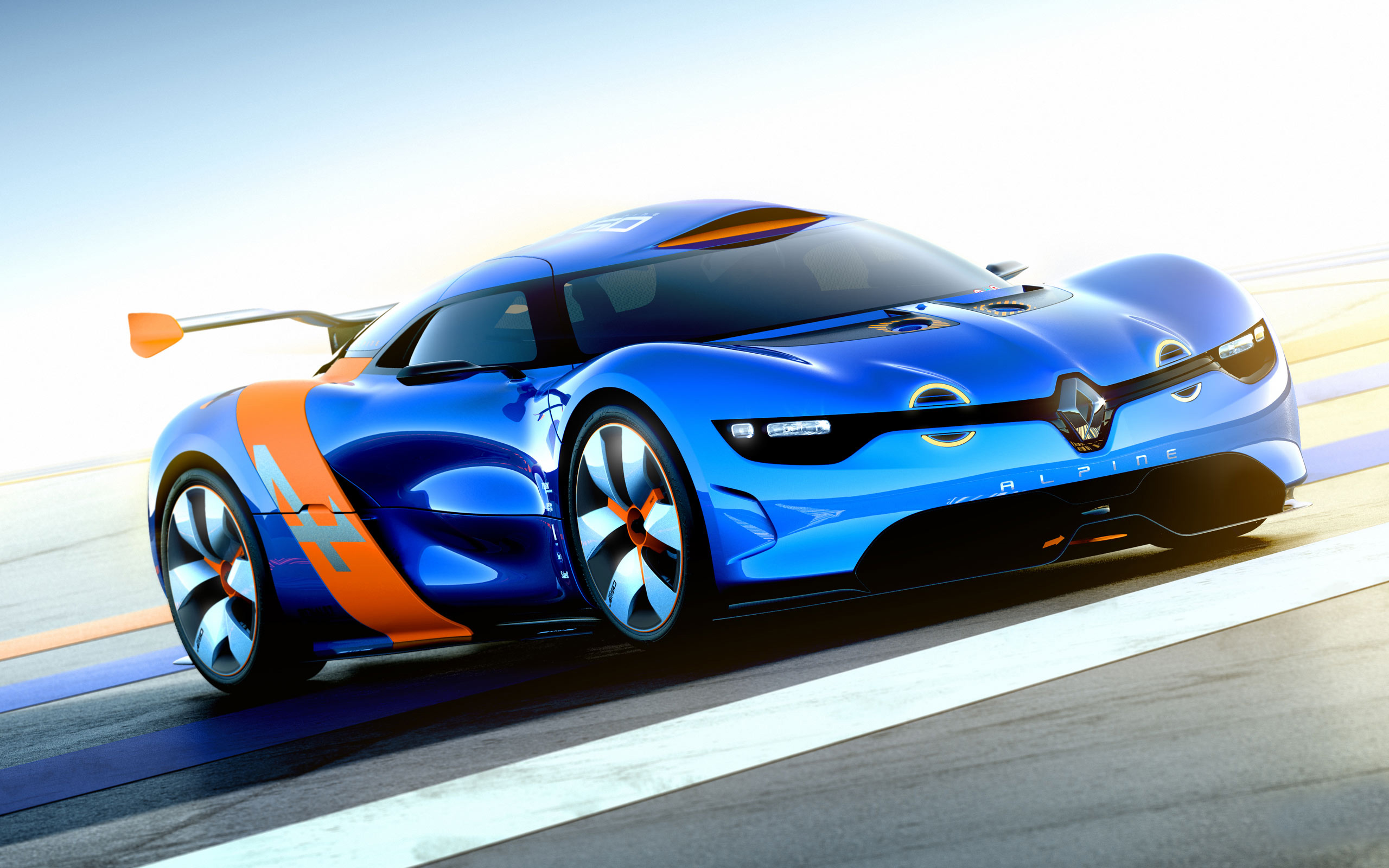 Renault Alpine Concept Car 459.5 Kb