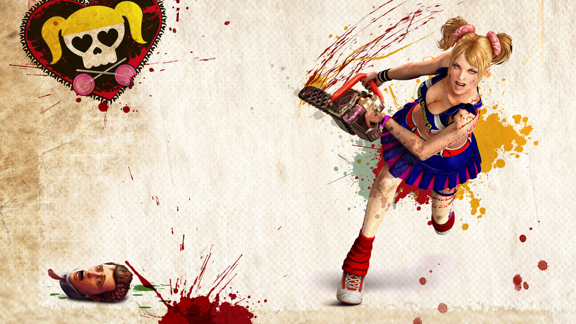 Cheerleader Zombie Hunter 2373.77 Kb