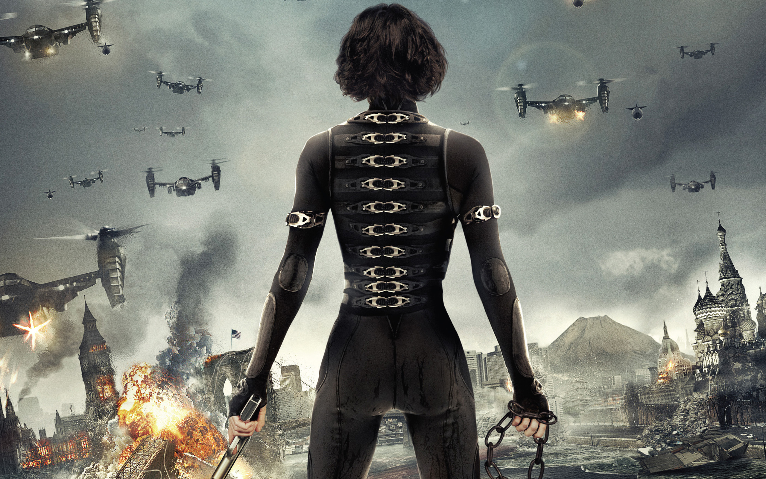 Alice in Resident Evil 5 Retribution