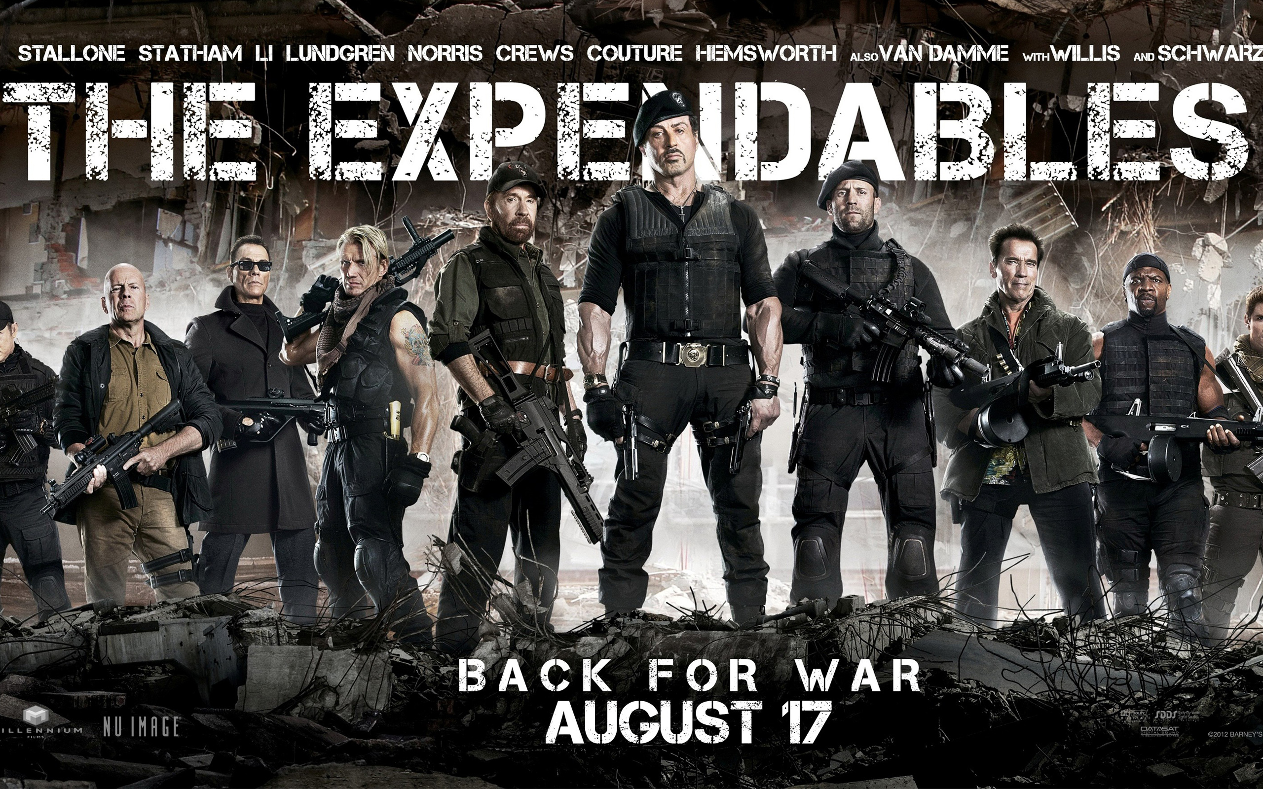 The Expendables 2 Back for War 329.67 Kb