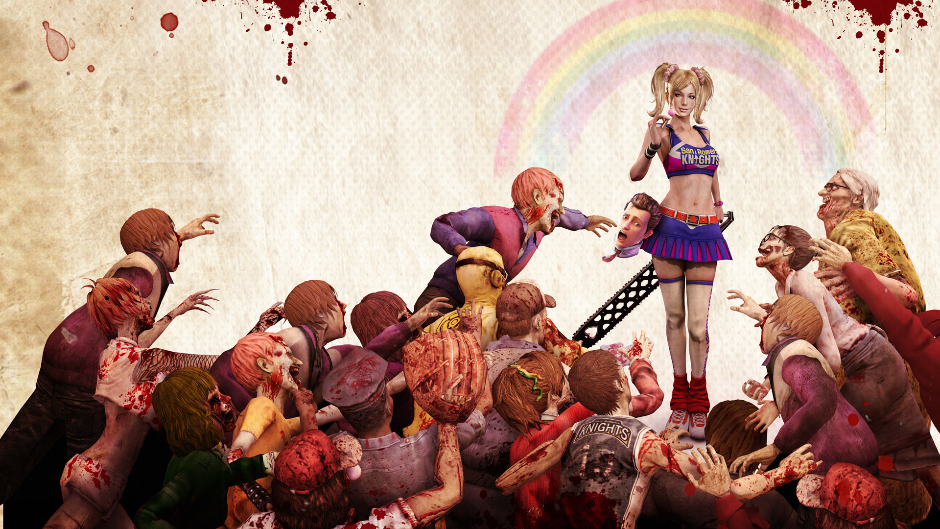 Lollipop Chainsaw Zombie Game 1548.8 Kb