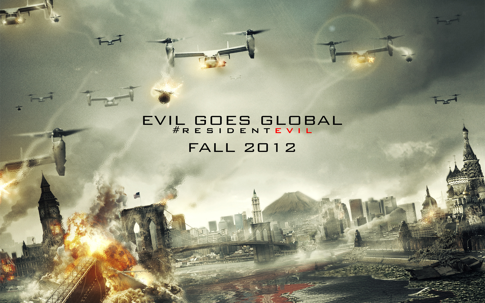 Resident Evil Retribution 2012 2024.42 Kb