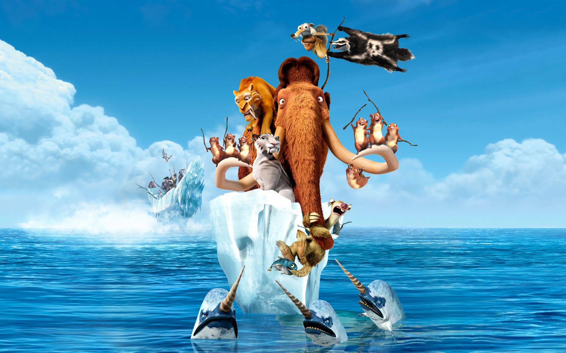 Ice Age 4 Continental Drift Movie 2124.25 Kb