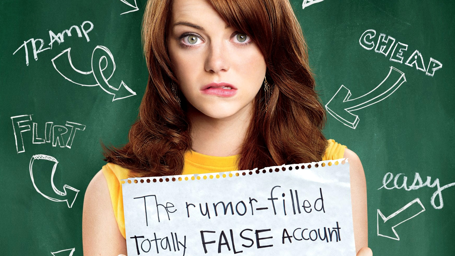 Emma Stone Easy A Movie 1731.58 Kb