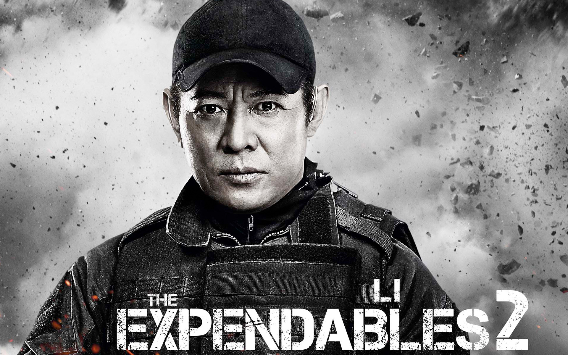 Jet Li in Expendables 2 999.5 Kb
