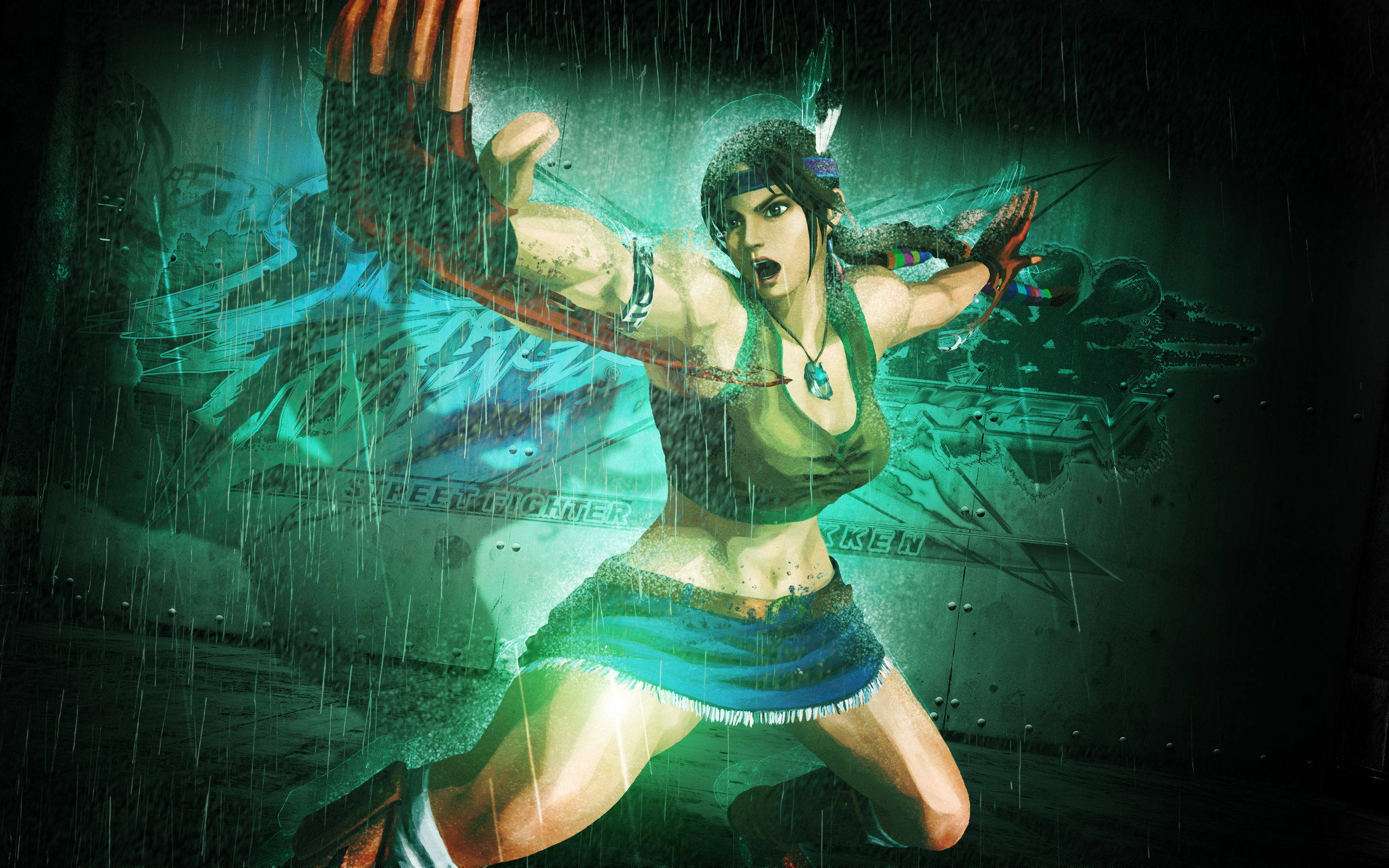 Julia Chang in Tekken 575.55 Kb