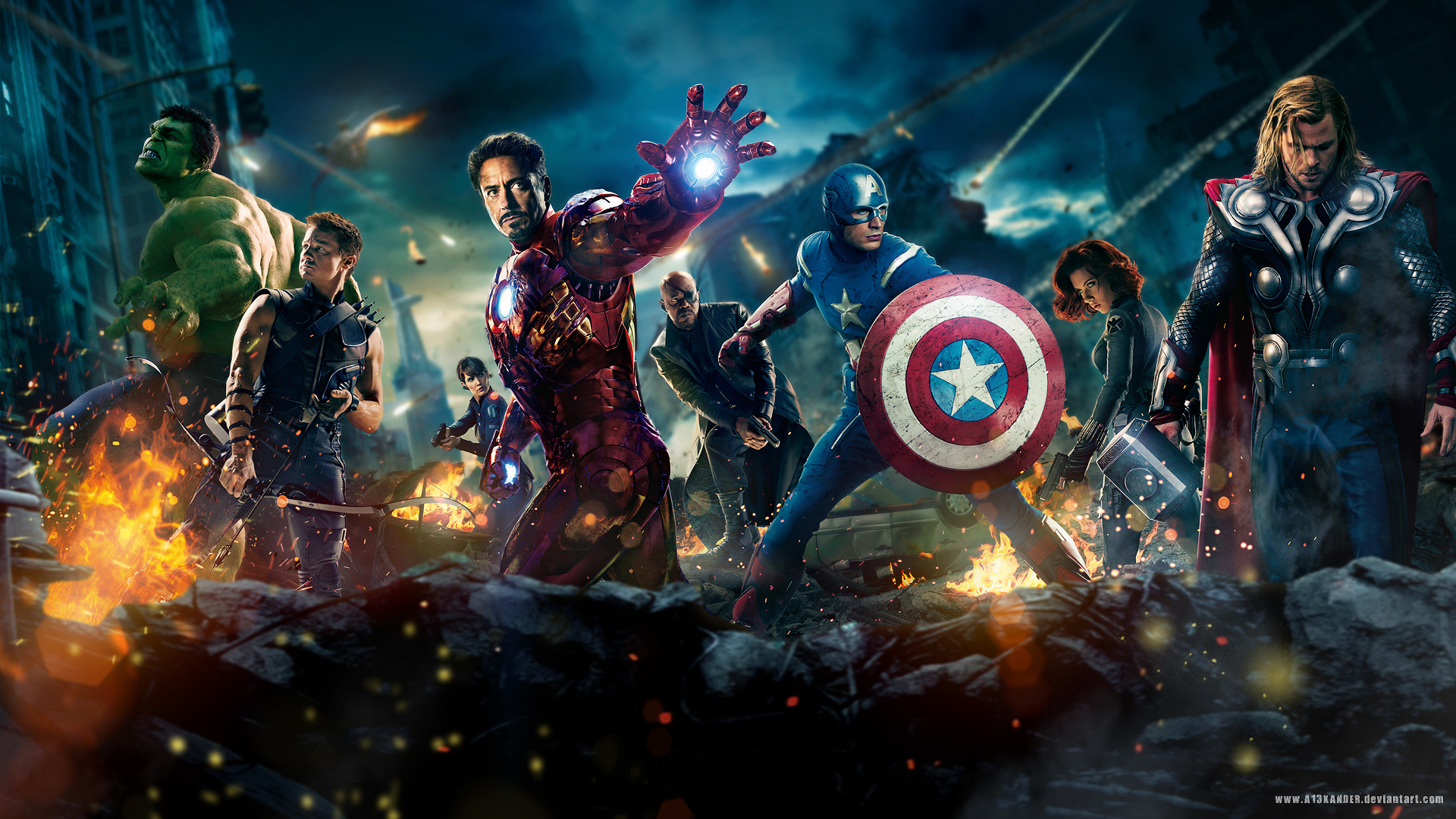 The Avengers Movie 2012
