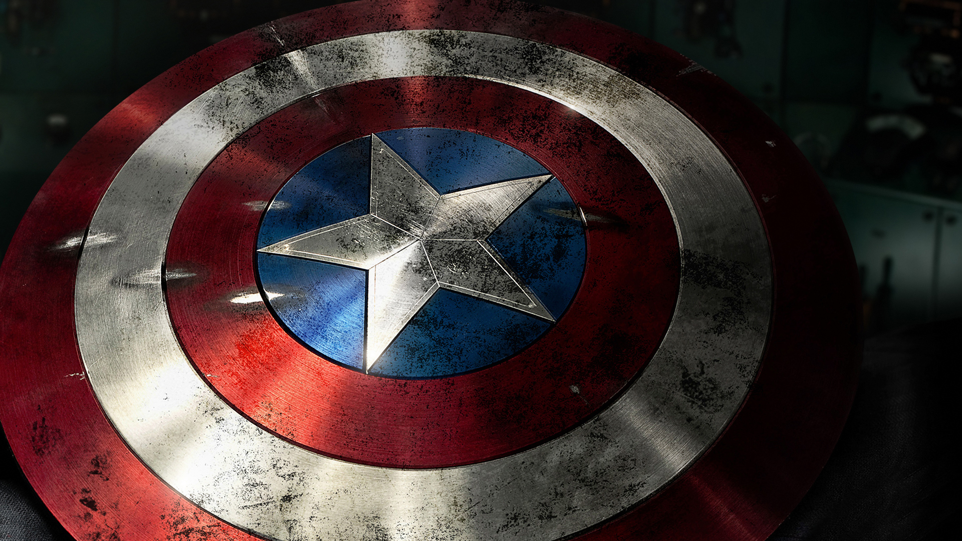 Shield of Captain America 638.53 Kb