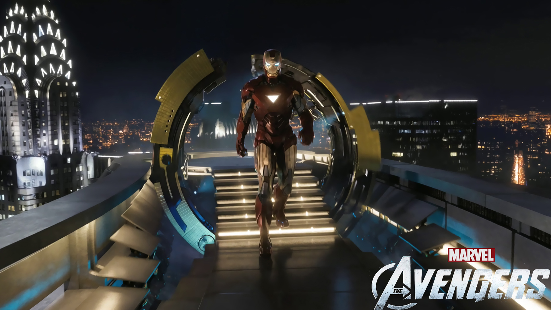 Iron Man in The Avengers Movie