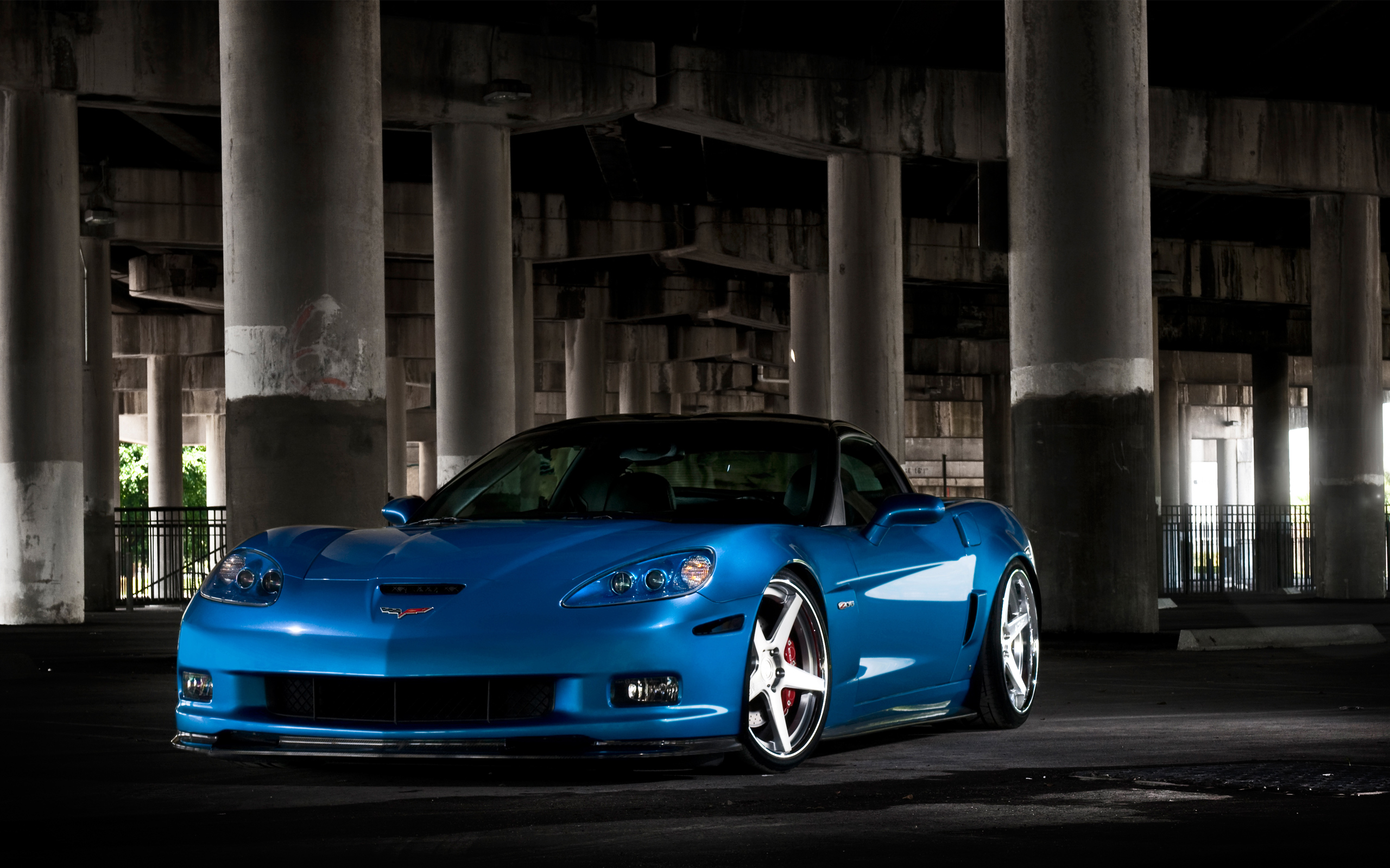 Chevrolet Corvette C6 ZR1 Car 846.52 Kb
