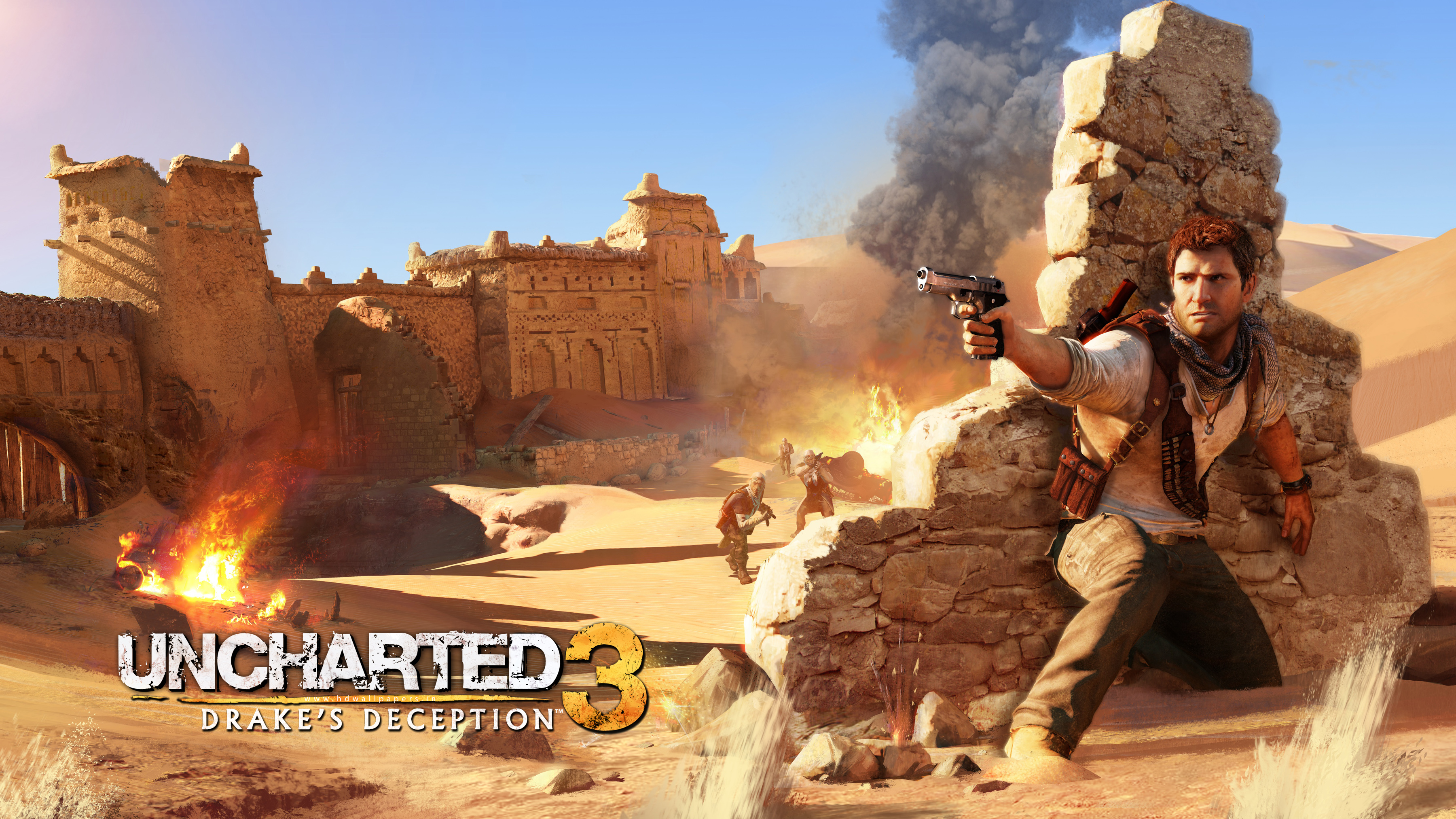Drake in Uncharted 3