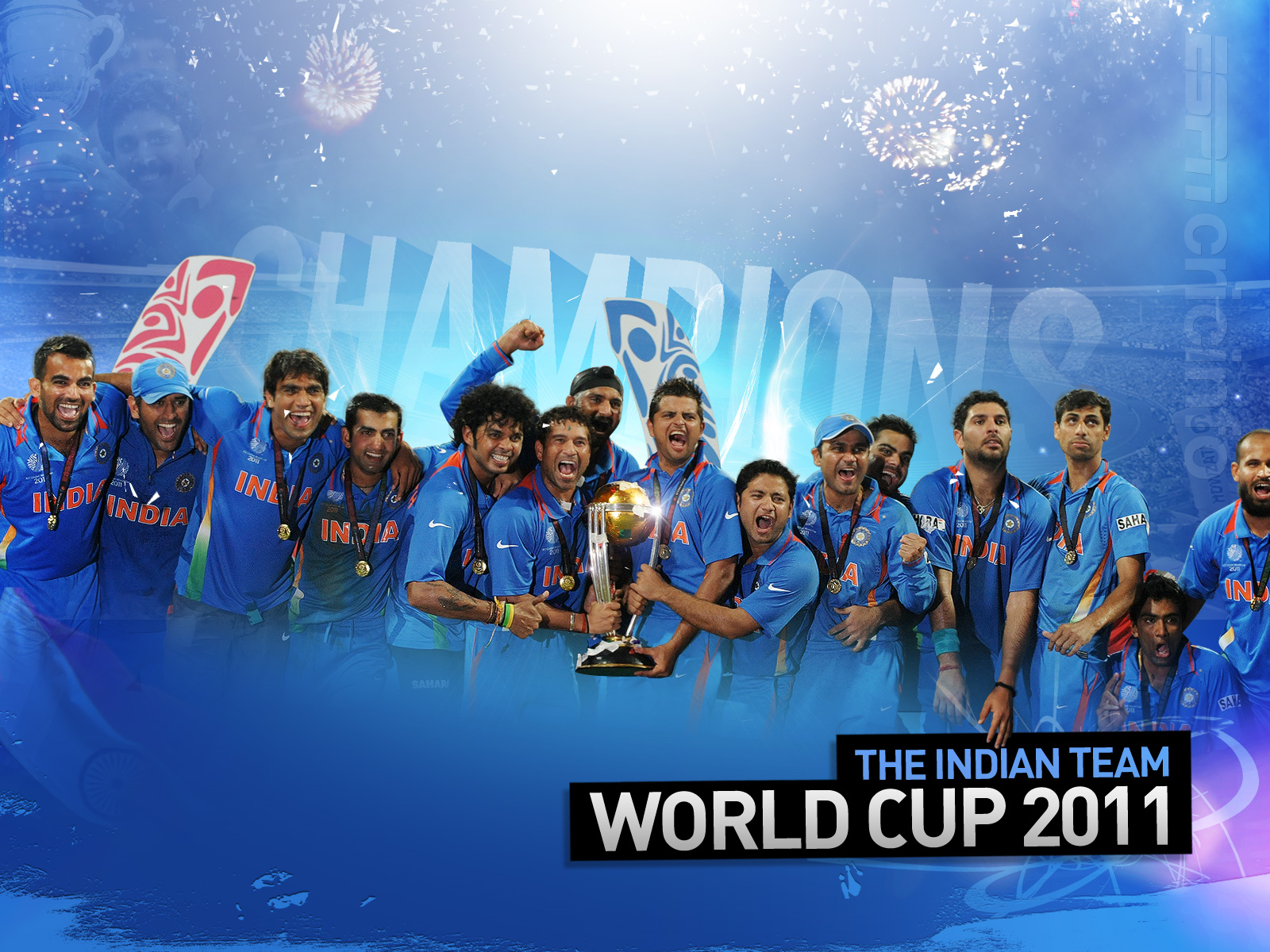 India Team World Cup 2011 560.24 Kb