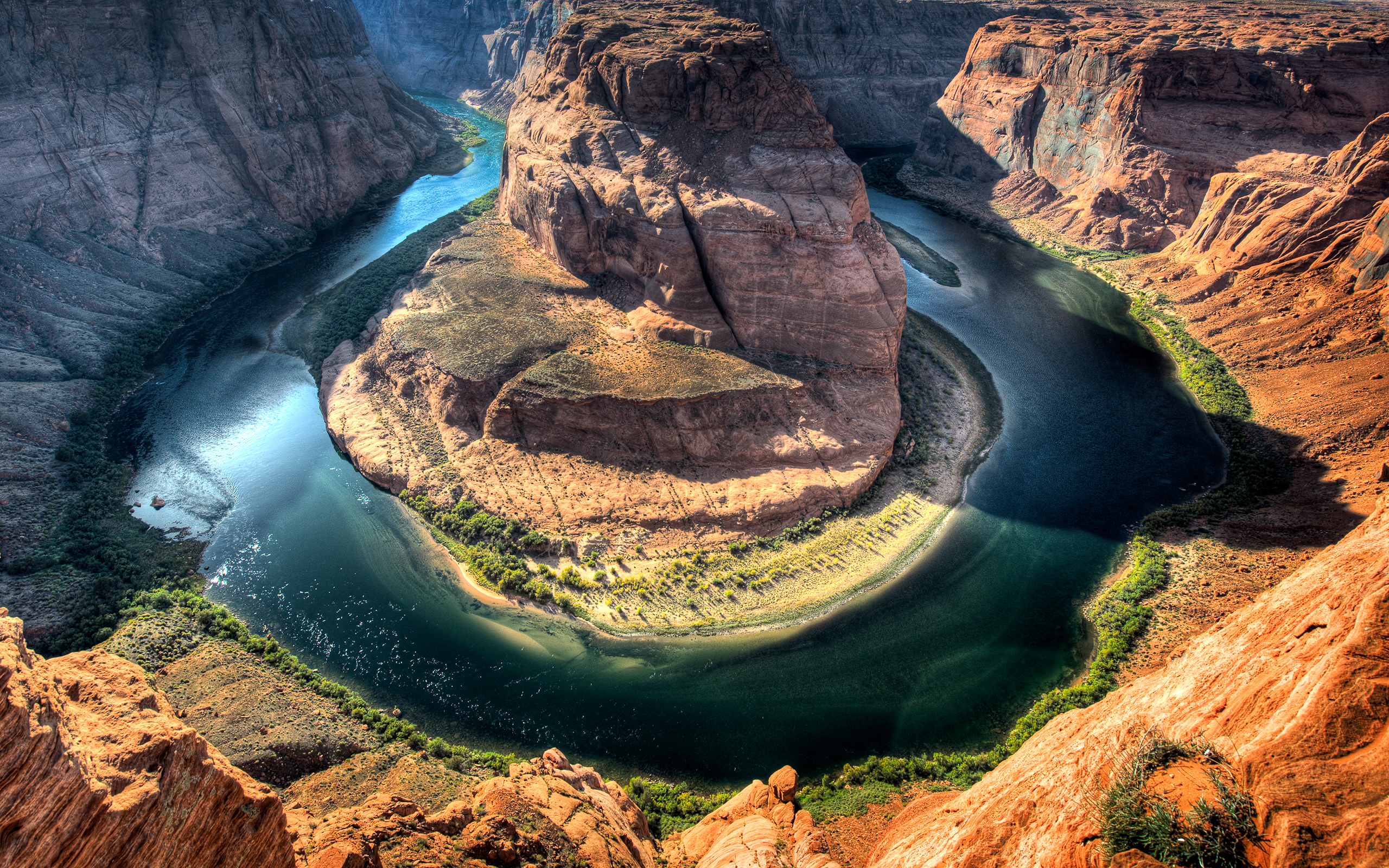 Horseshoe Bend Arizona 526.49 Kb