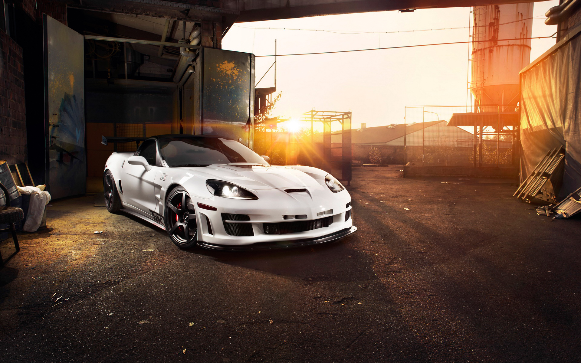 Chevrolet Corvette C6 ZR1 Tripple X 846.52 Kb
