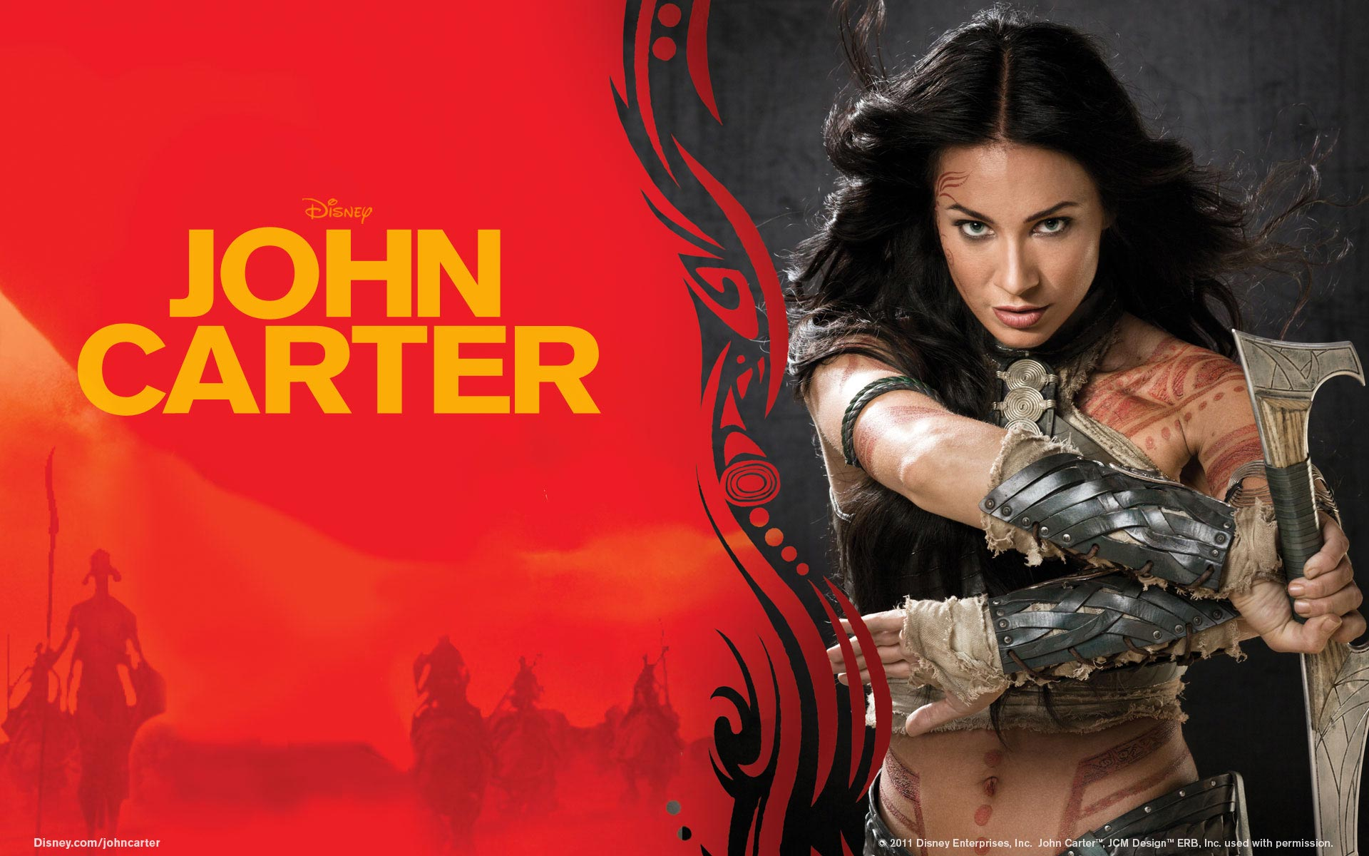 Lynn Collins in John Carter 1536.73 Kb