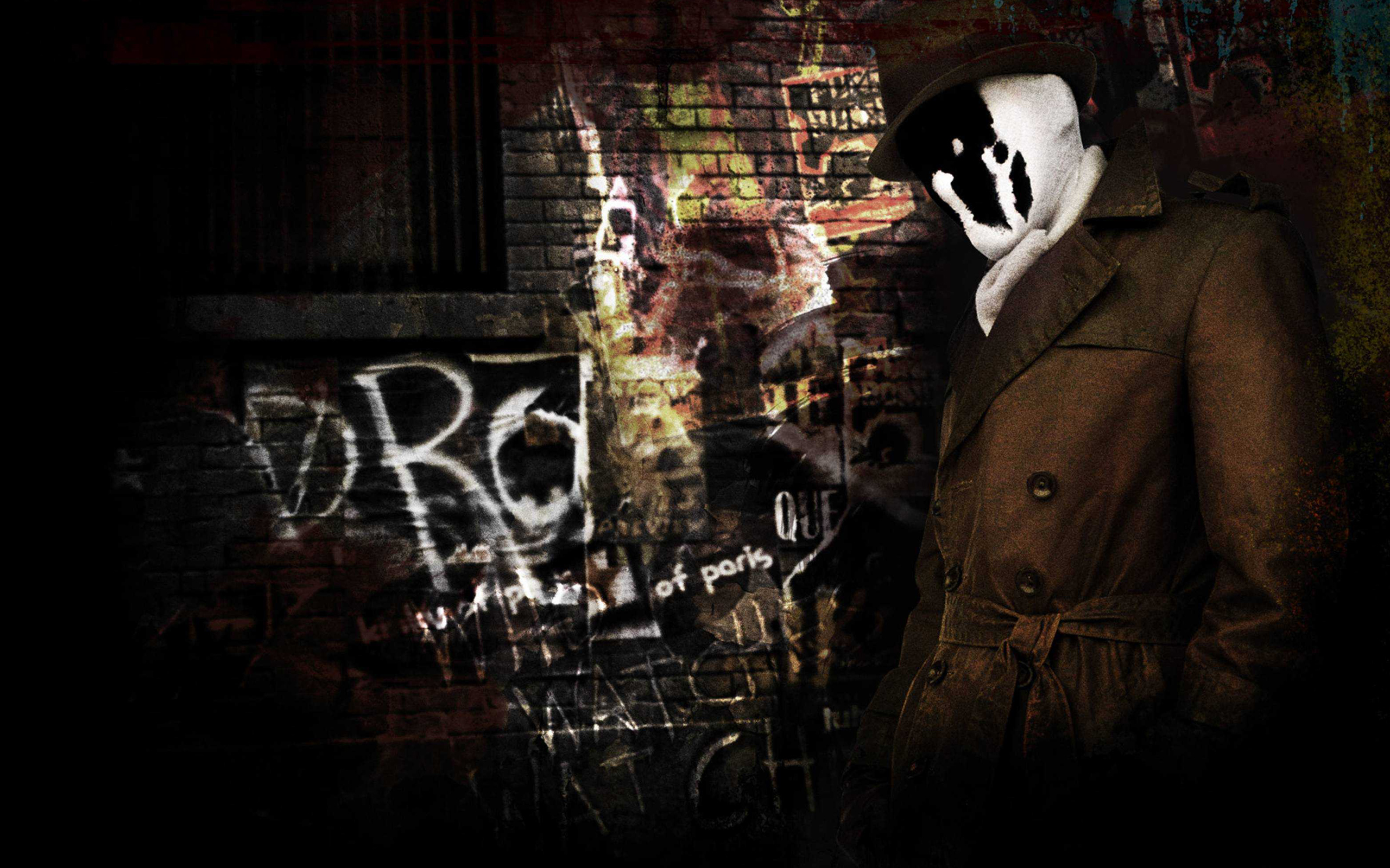 rorschach in watchmen #4171062, 2560x1600 | all for desktop