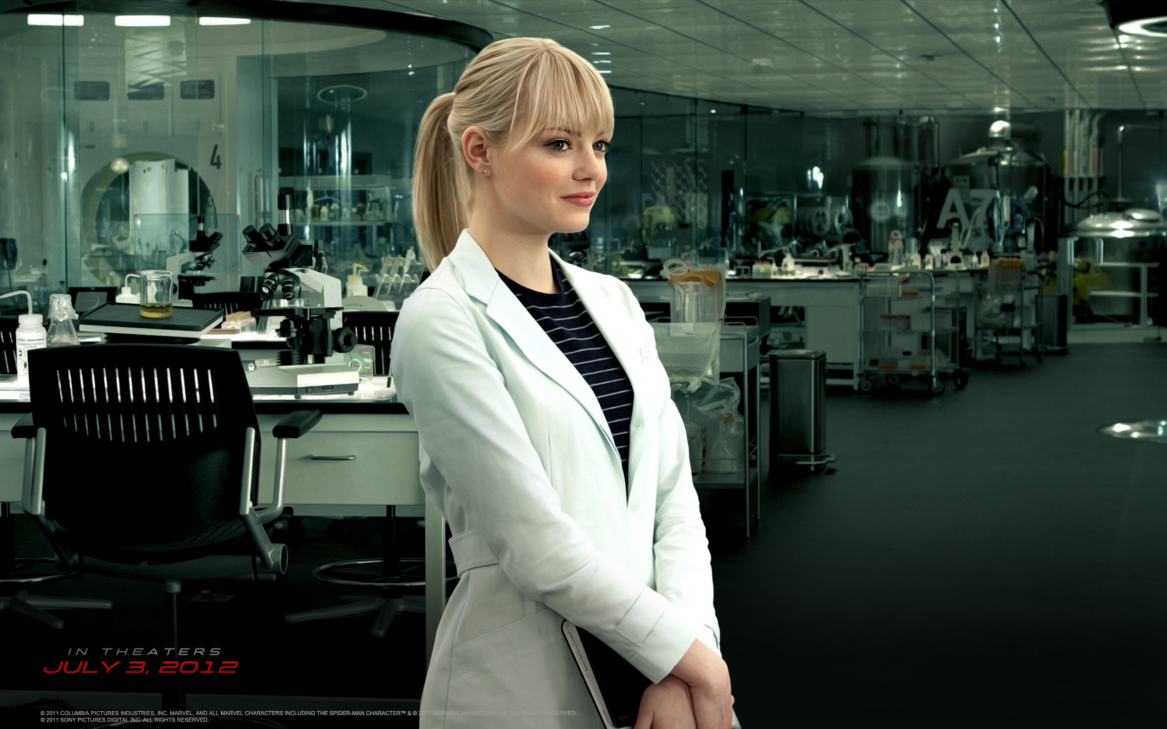 Emma Stone as Gwen Stacy 1252.75 Kb