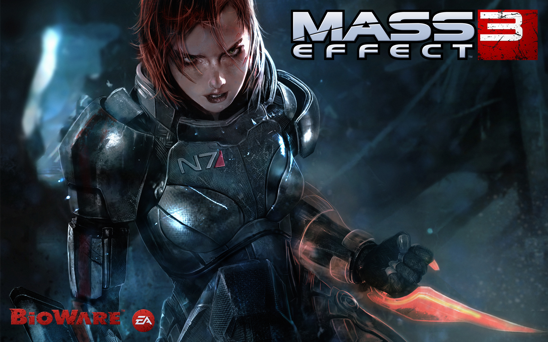 Female Shepard in Mass Effect 3