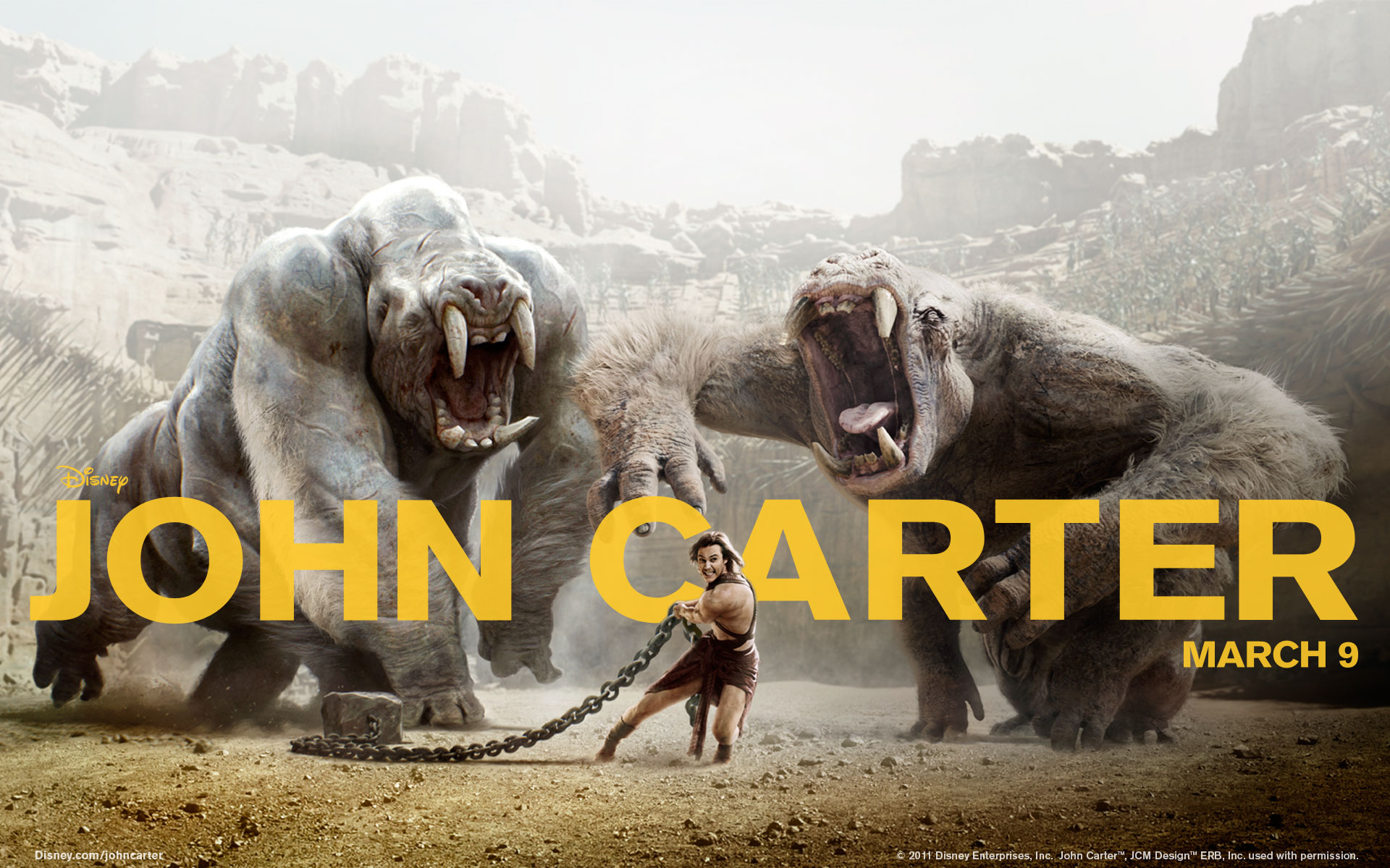 John Carter 2012 Movie 1536.73 Kb