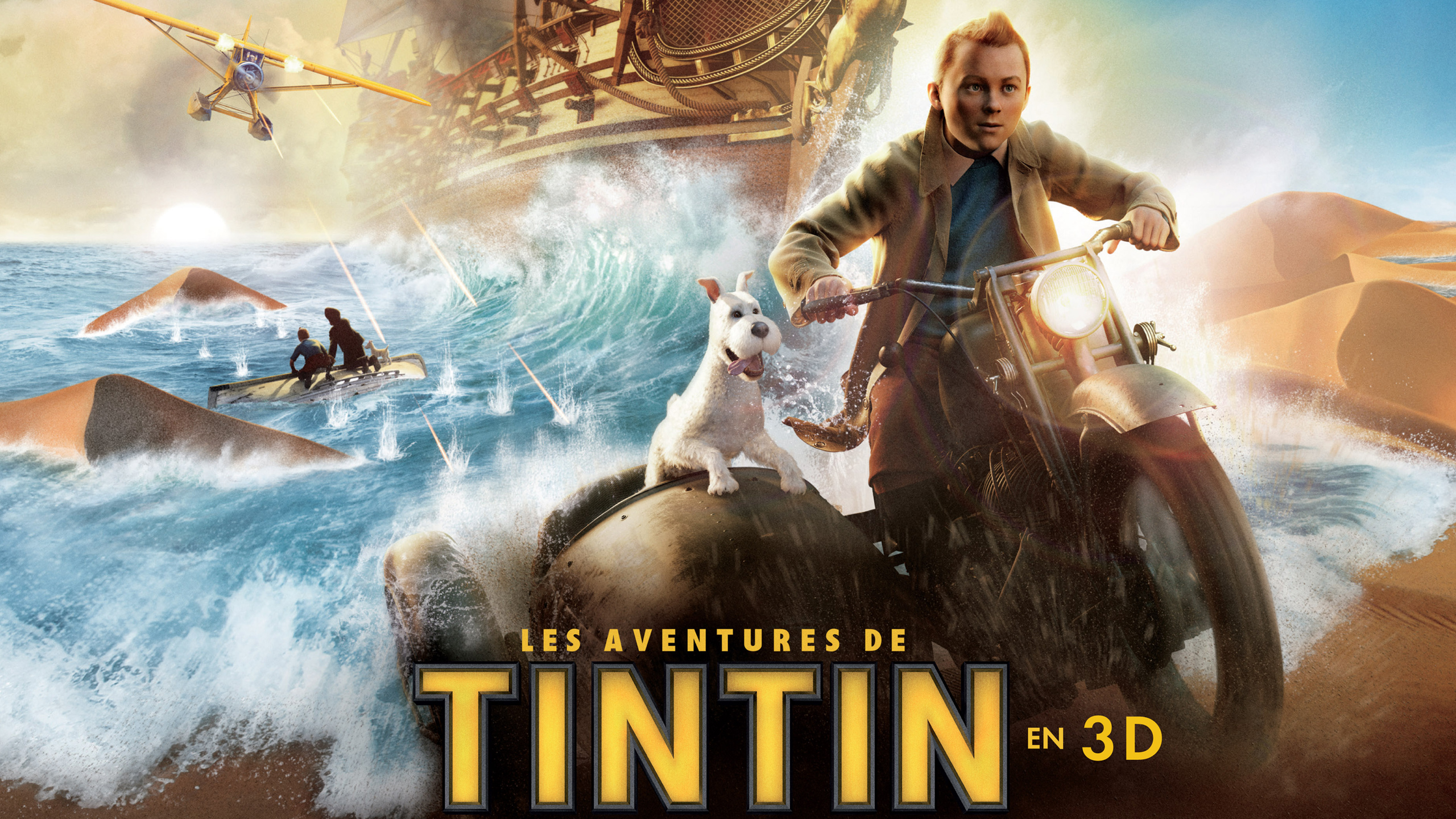 Tintin in French