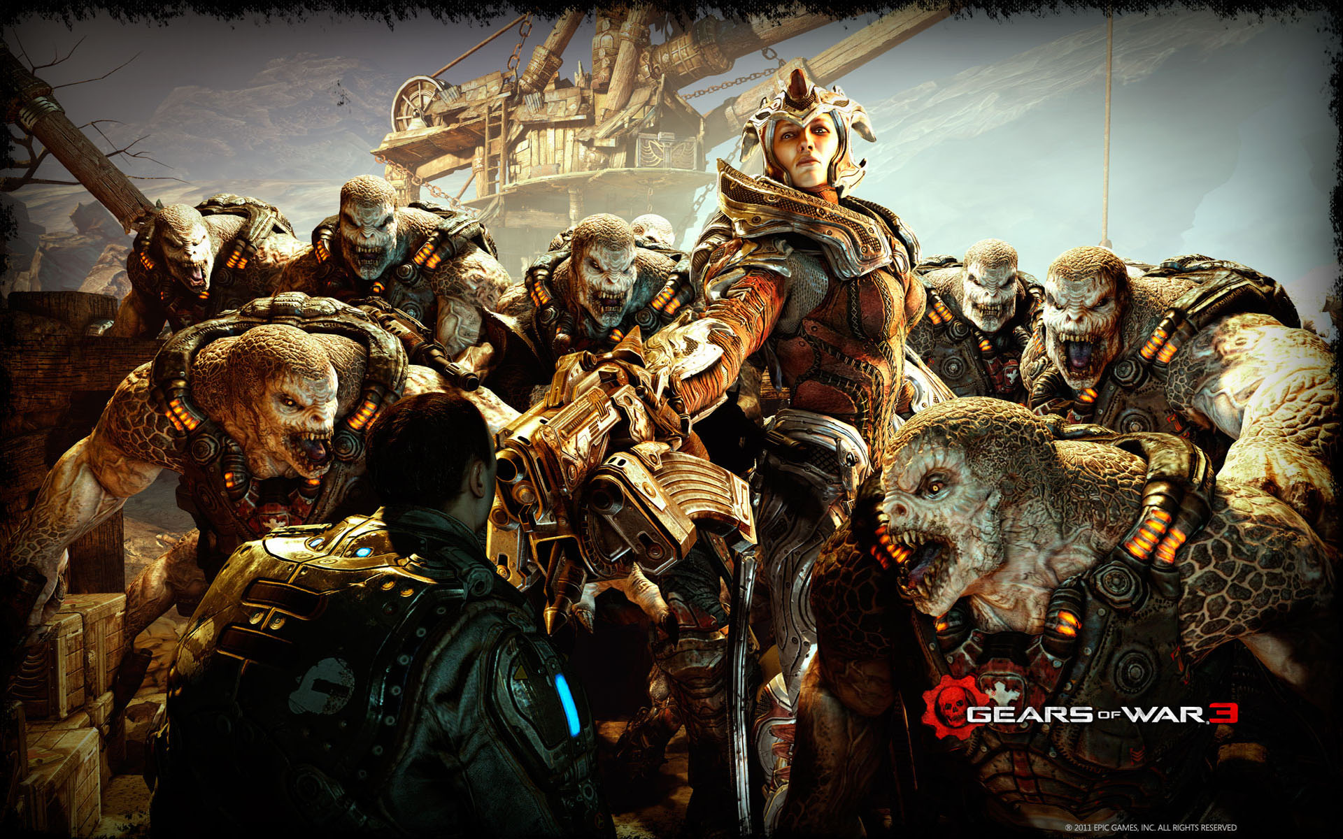Gears of War 3 2011 2463.1 Kb