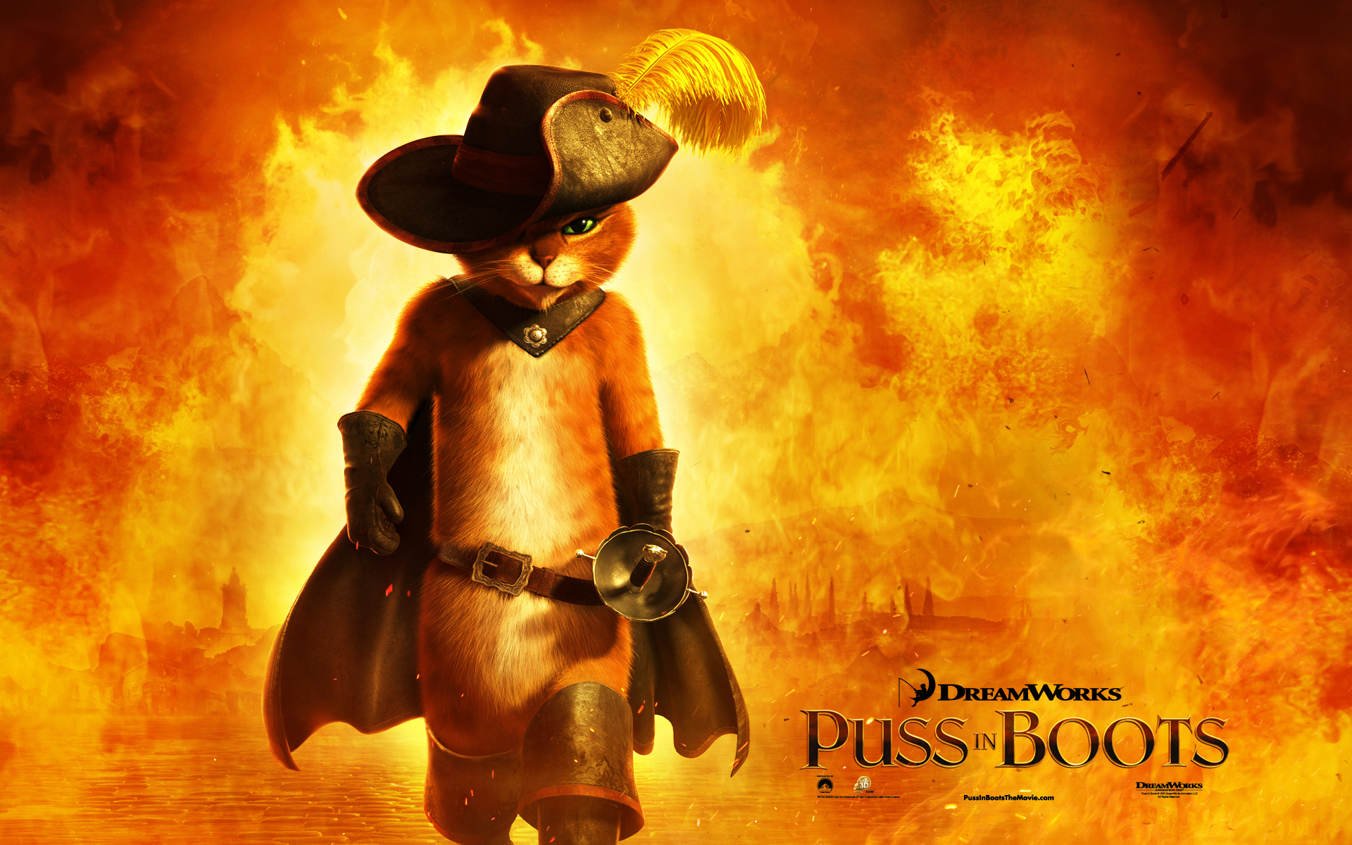 2011 Puss in Boots Movie