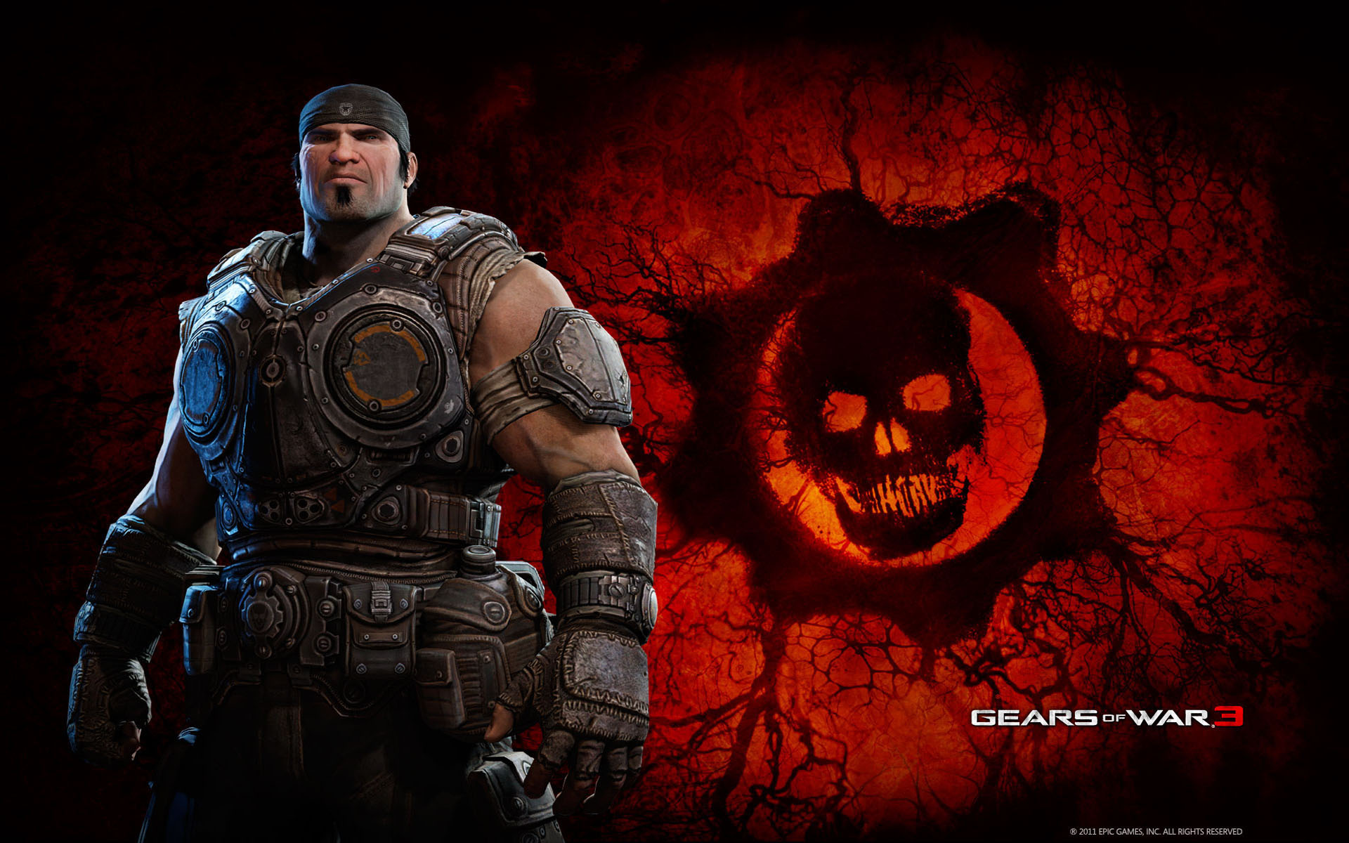 Marcus in Gears of War 3