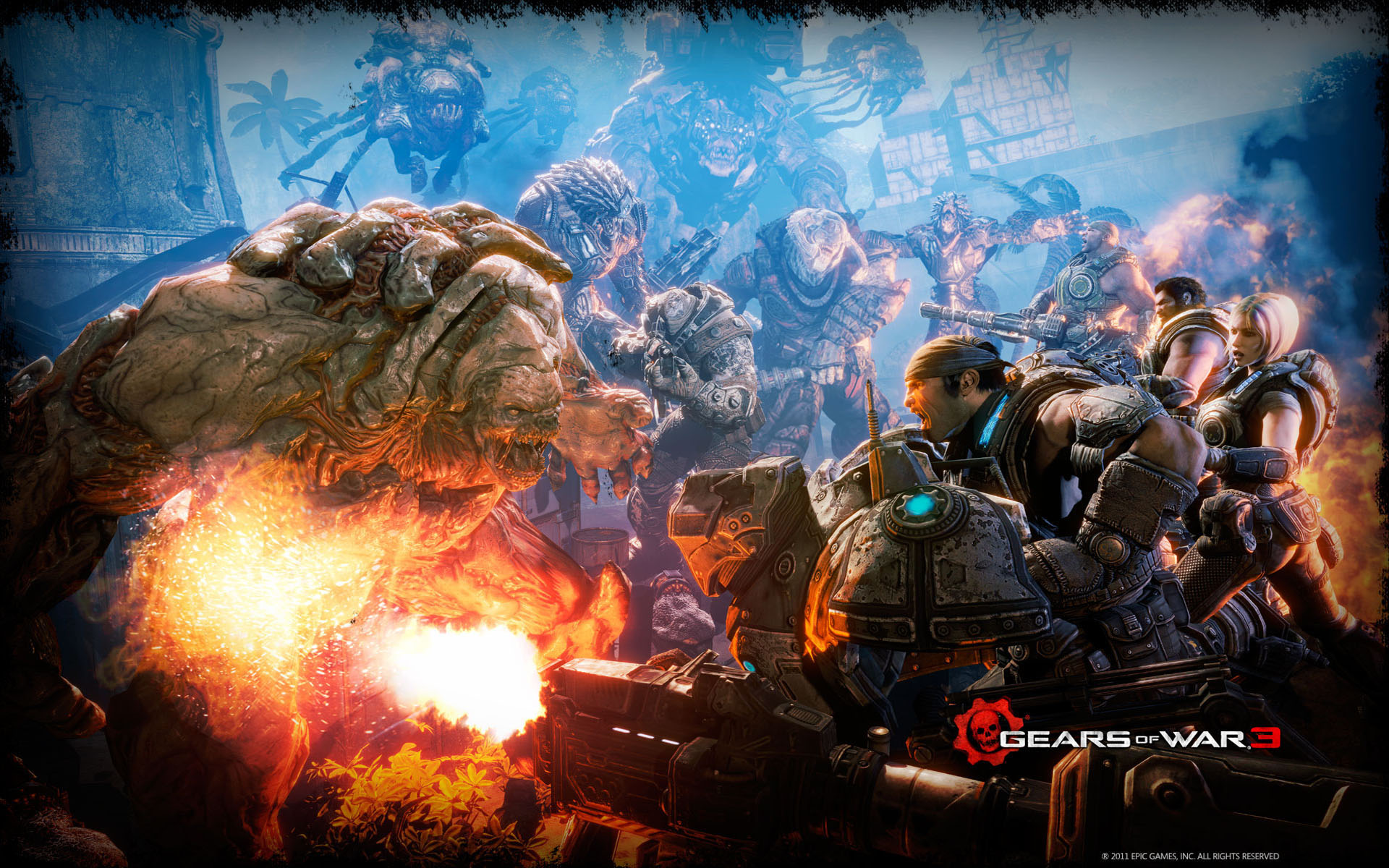 Gears of War 3 Battle 3536.69 Kb